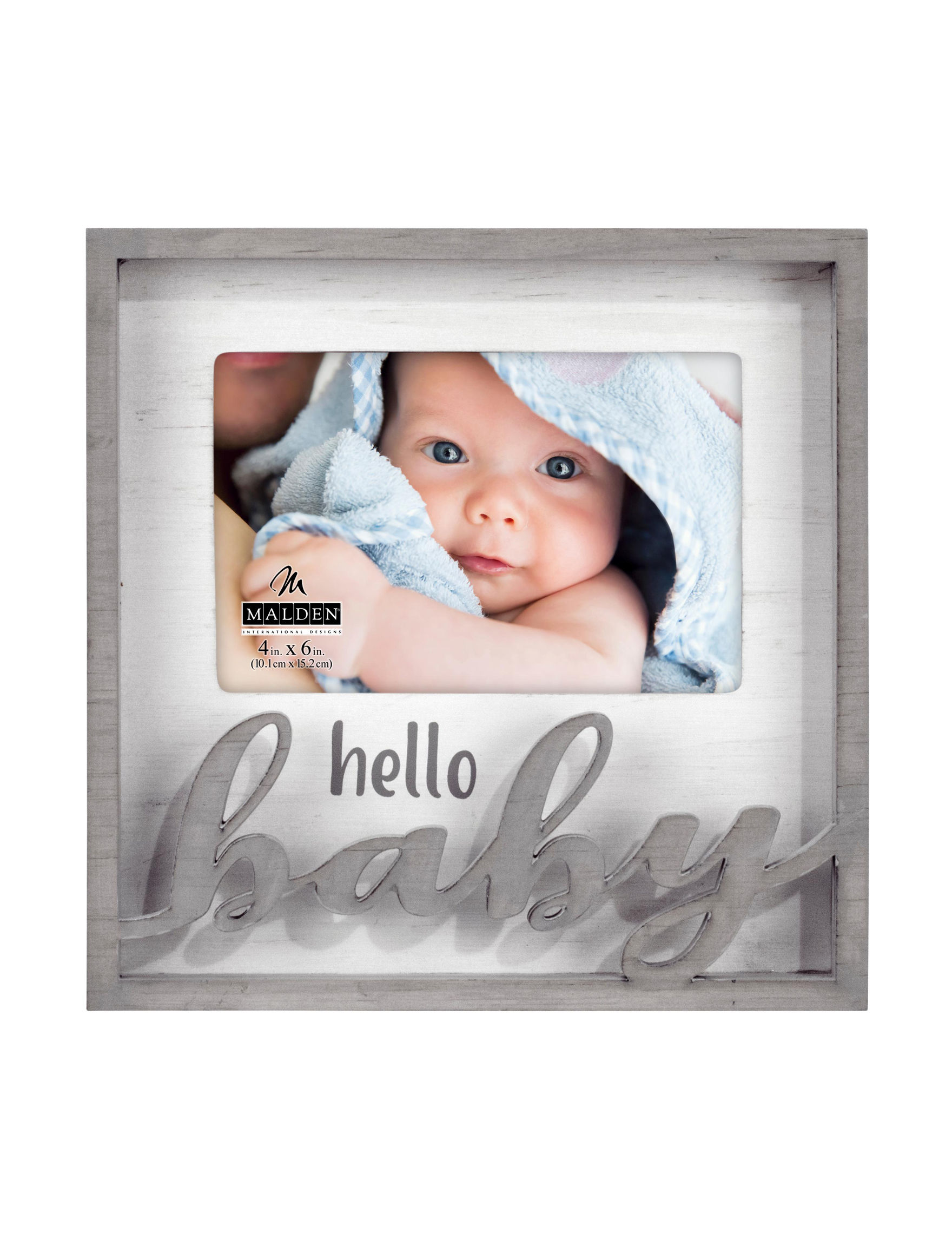 Malden Grey Decorative Objects Frames & Shadow Boxes