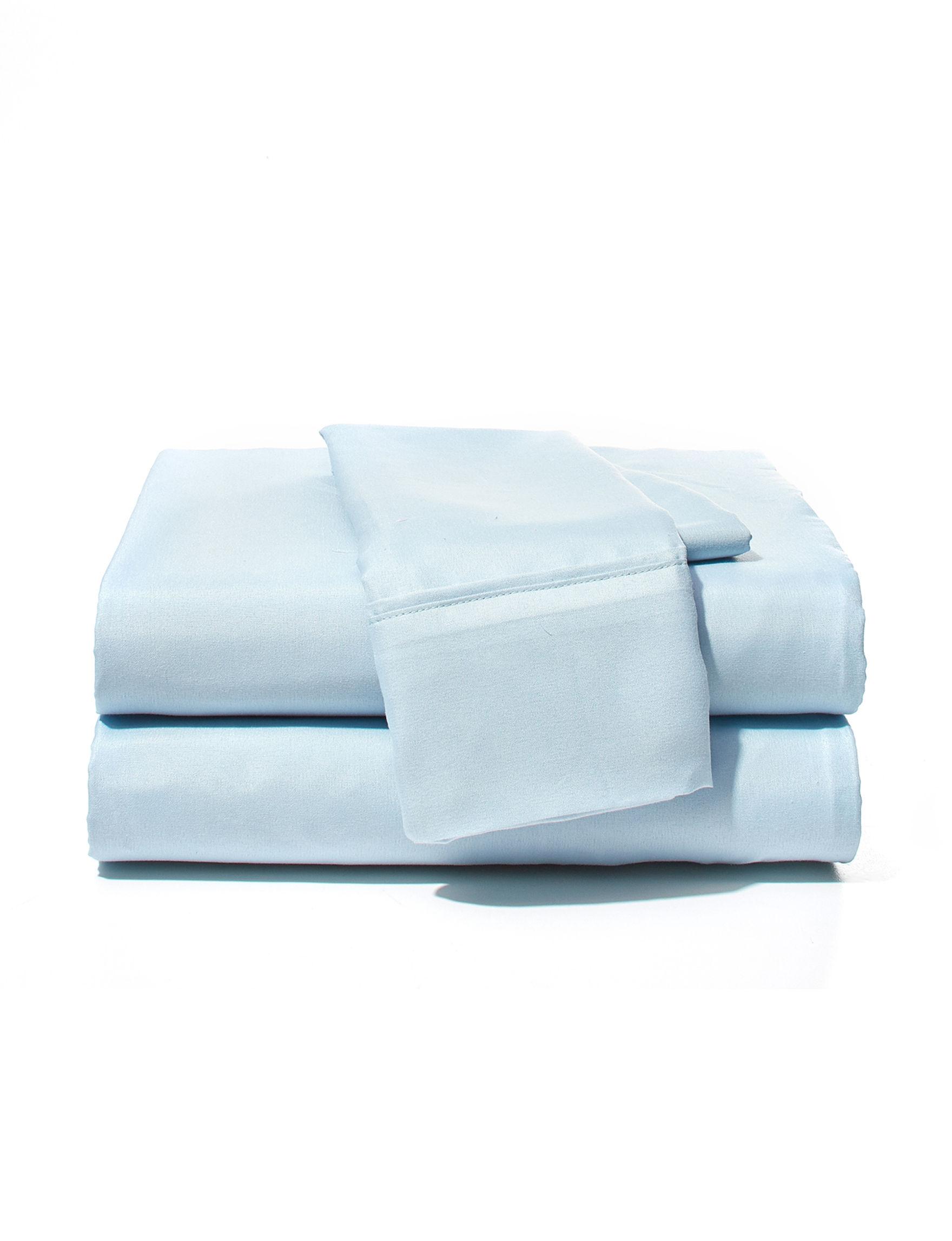 Harper Home Blue Sheets & Pillowcases