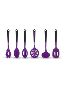 Art and Cook Purple Kitchen Utensils Prep & Tools