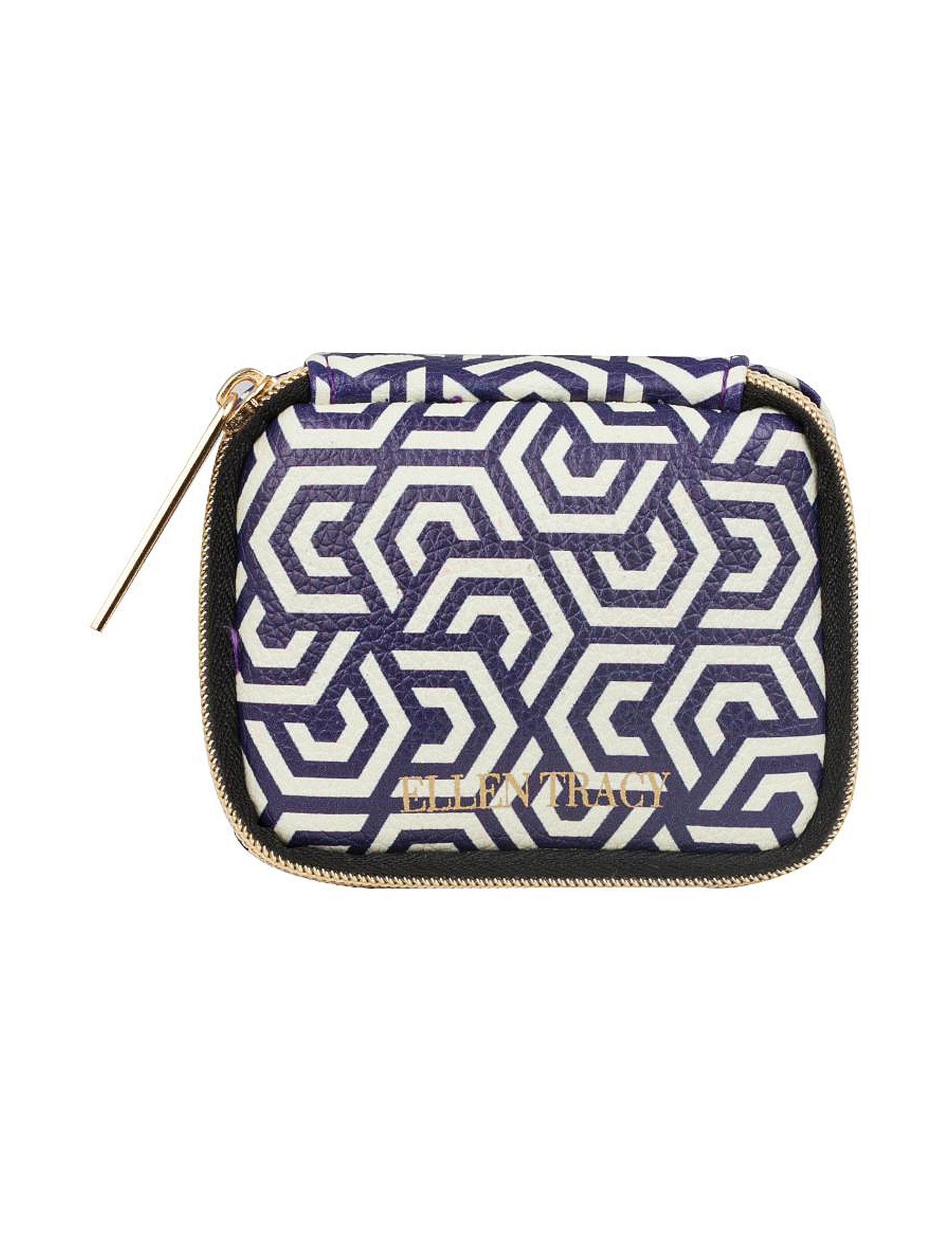 Ellen Tracy Blue Travel Accessories