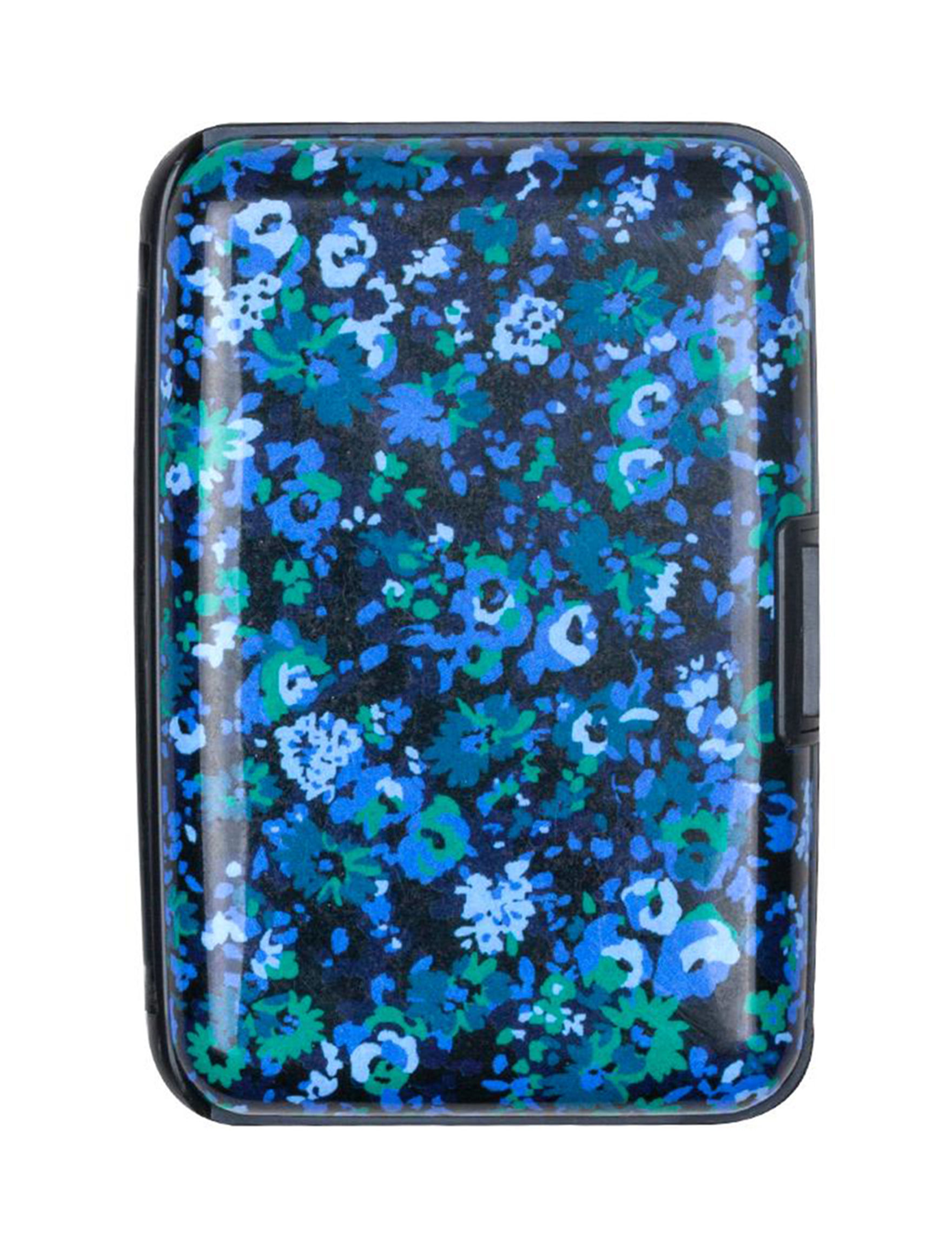 Isaac Mizrahi Blue Floral