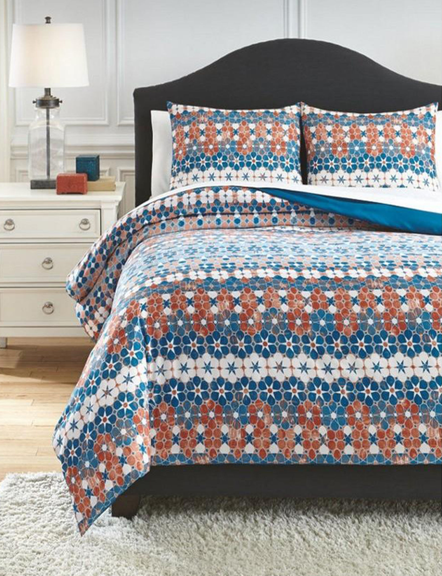 VCNY Home Blue Multi Comforters & Comforter Sets