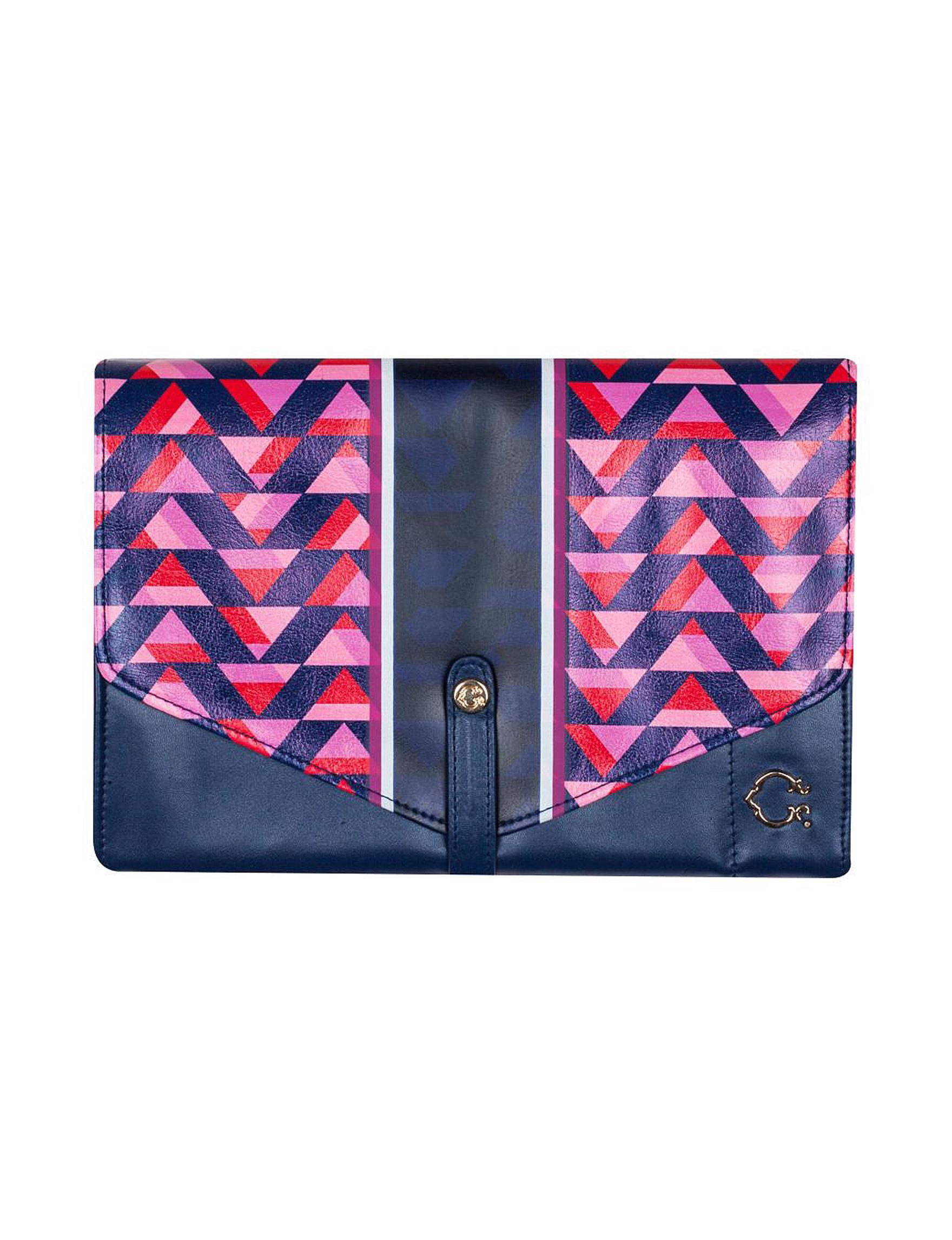 C. Wonder Pink / Navy Travel Accessories