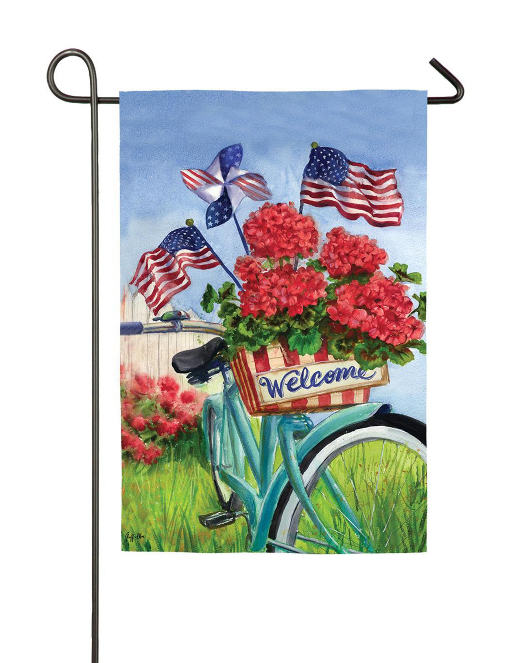 Evergreen Blue / Multi Flags & Flag Hardware Outdoor Decor