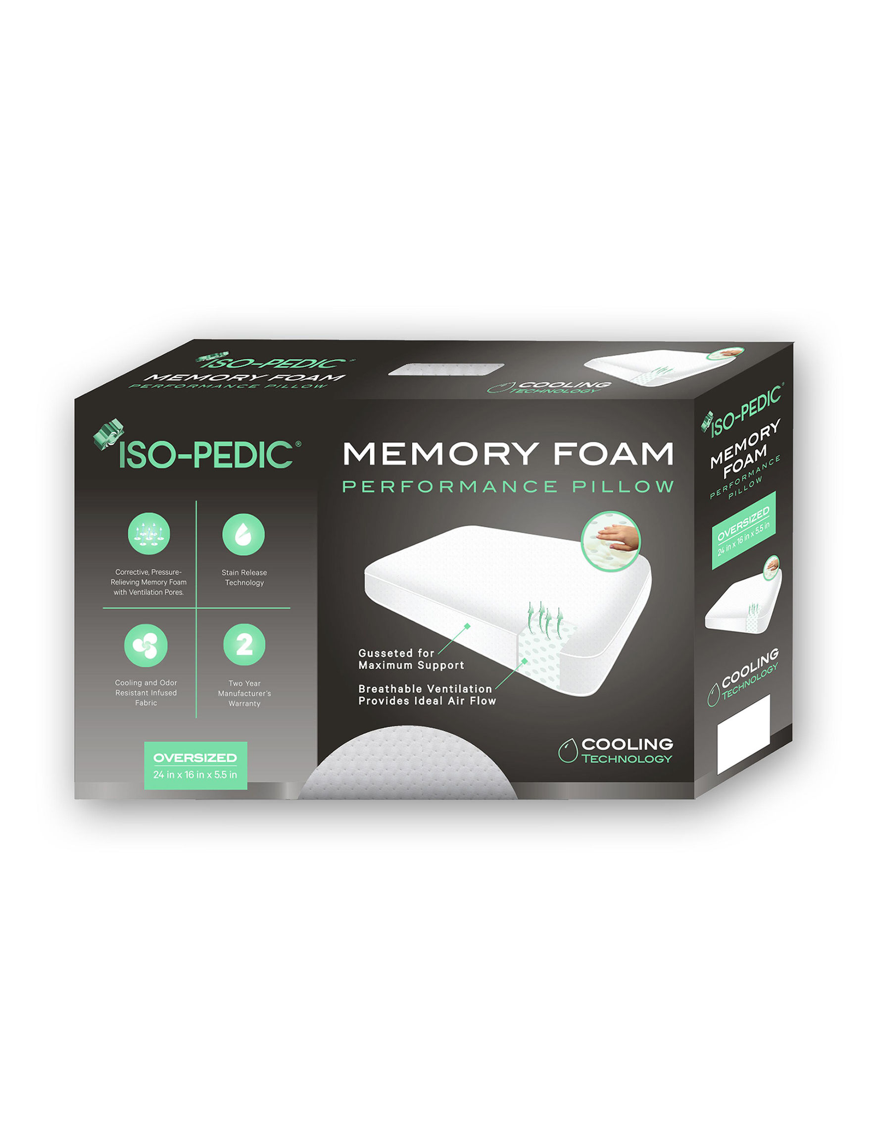 ISO - Pedic White Bed Pillows
