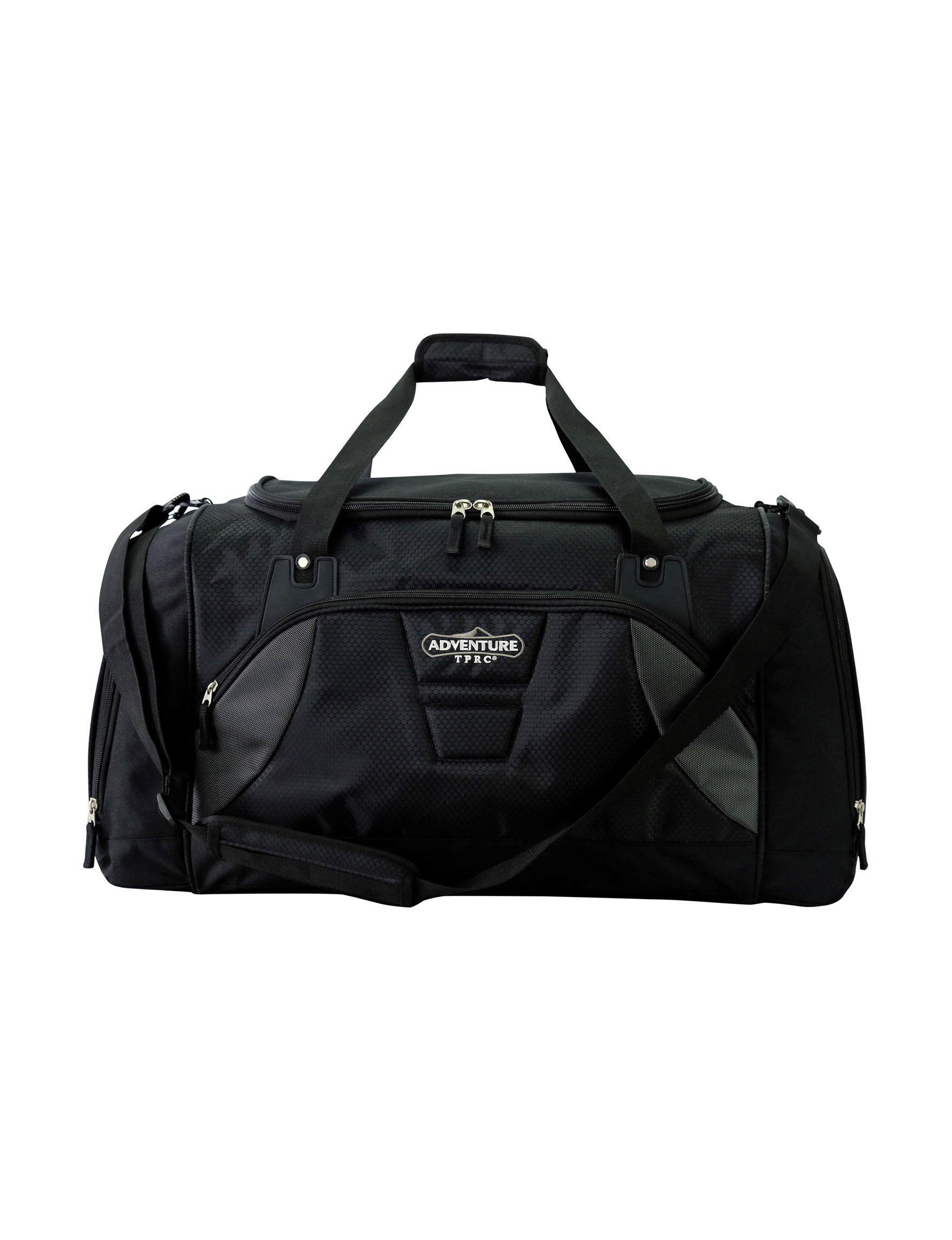 Travelers Club Luggage Black Duffle Bags
