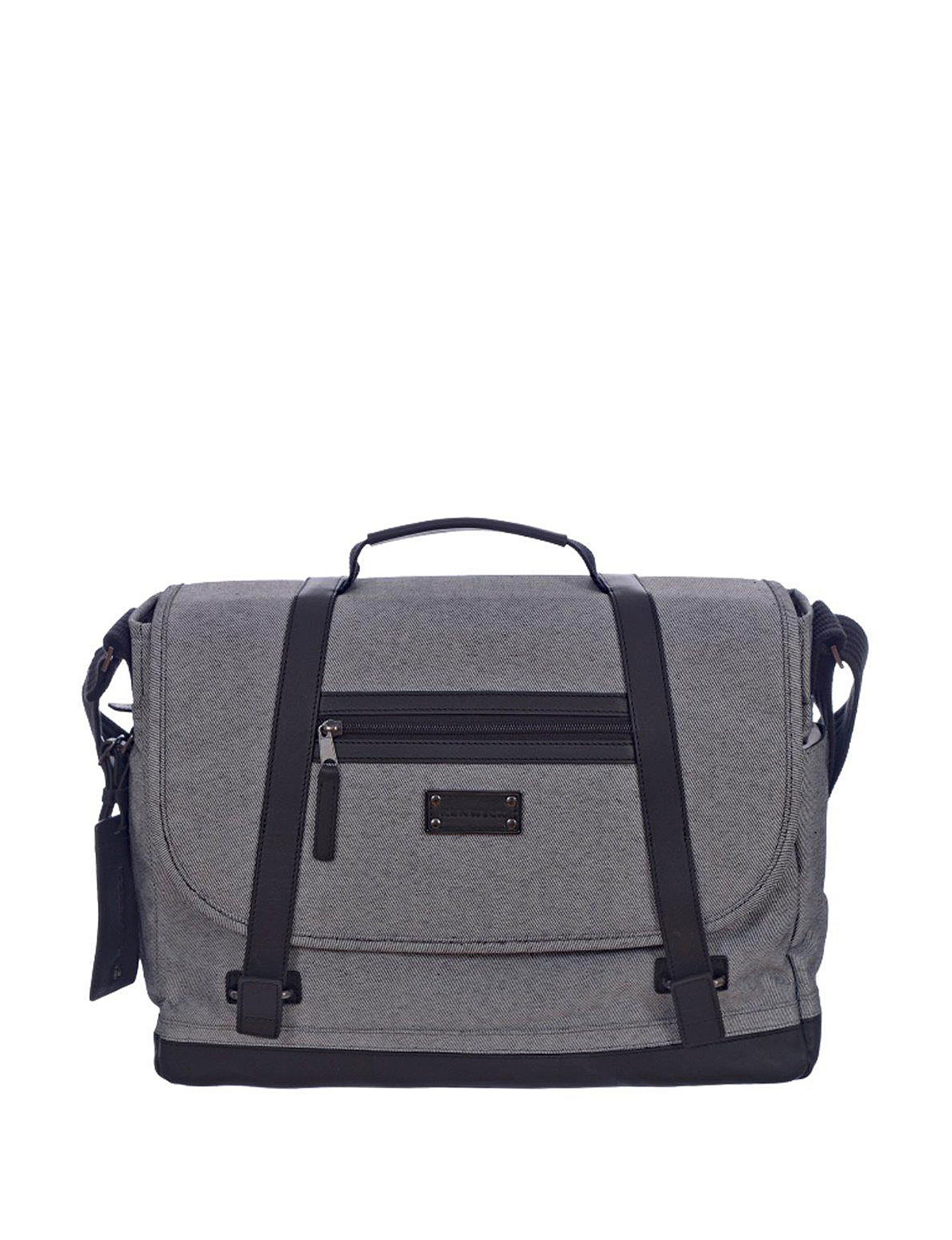 Cosmopolitan Grey Laptop & Messenger Bags