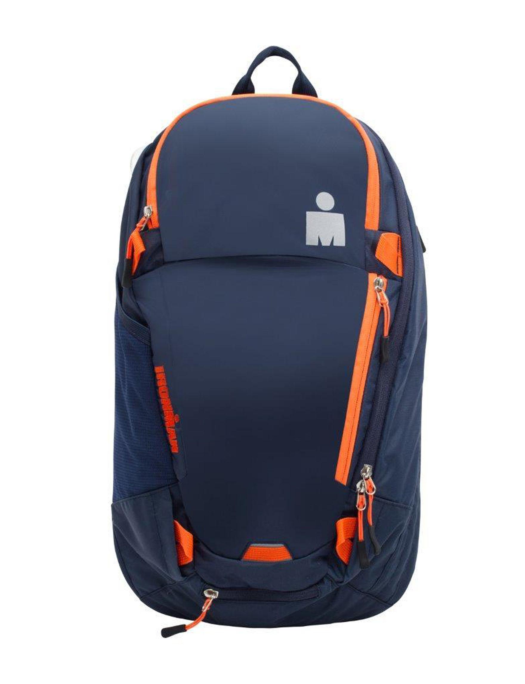 Cosmopolitan Navy / Orange Bookbags & Backpacks