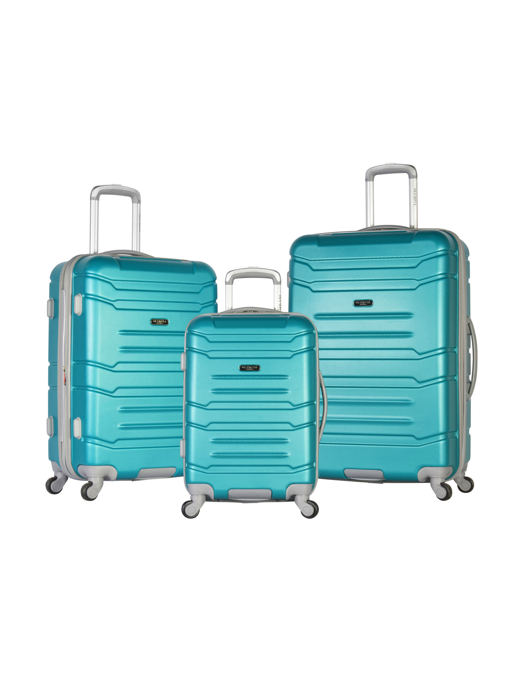 Olympia Turquoise Hardside Upright Spinners