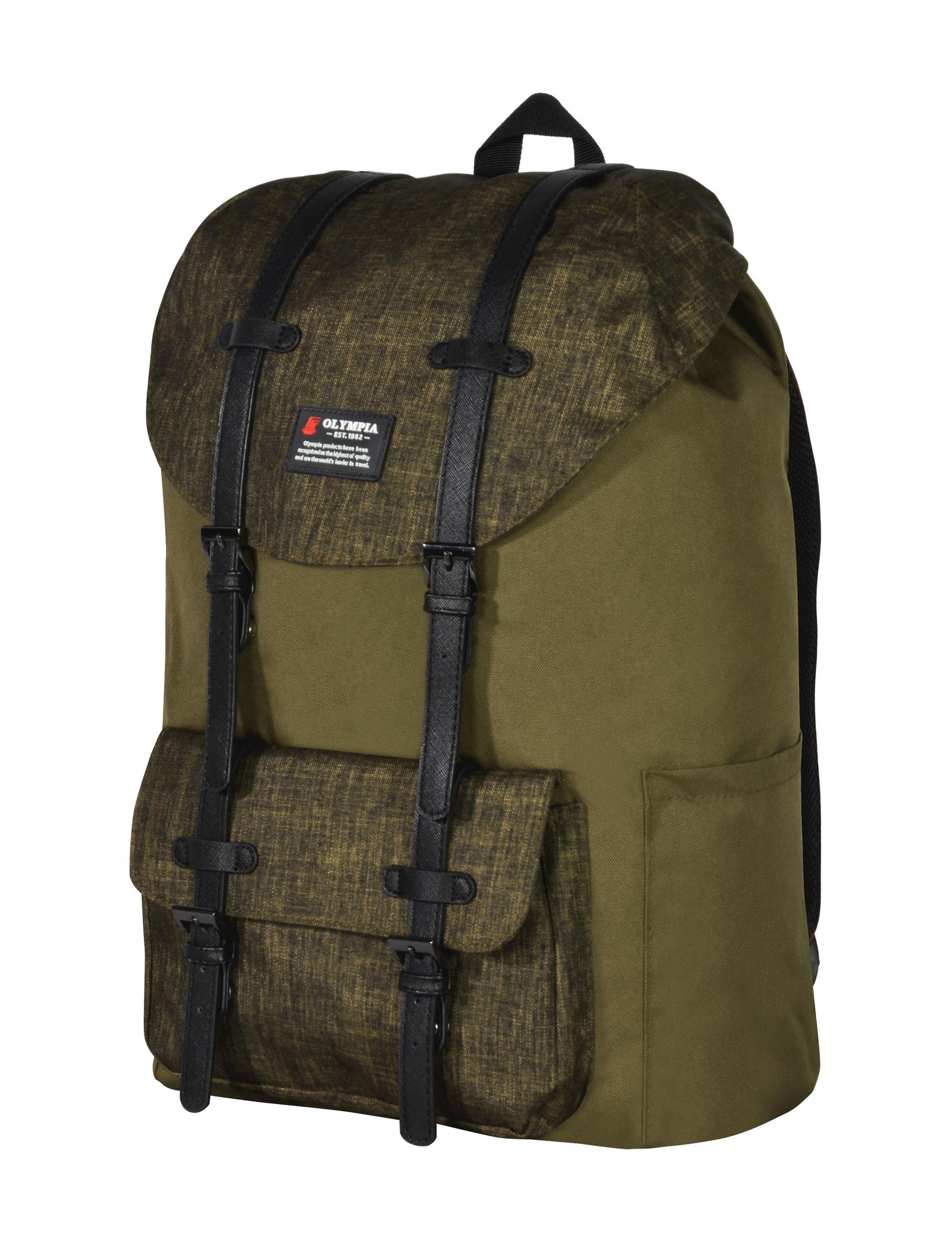 Olympia Green Bookbags & Backpacks