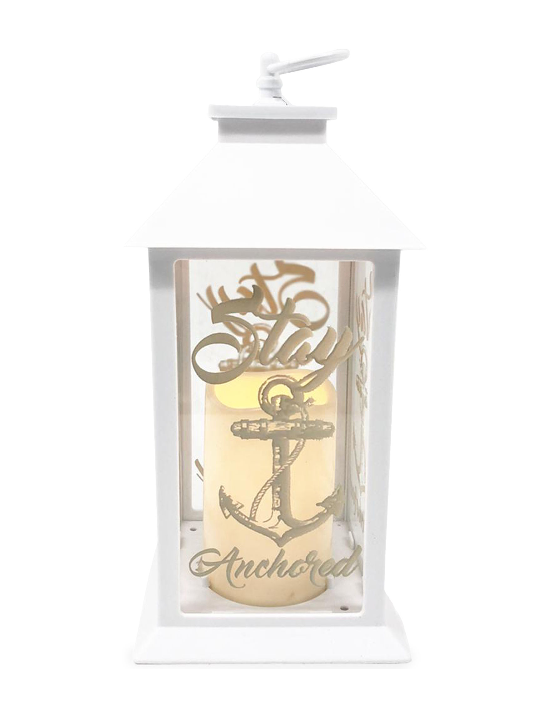 Complex Industries White Candle Holders Lights & Lanterns Candles & Diffusers