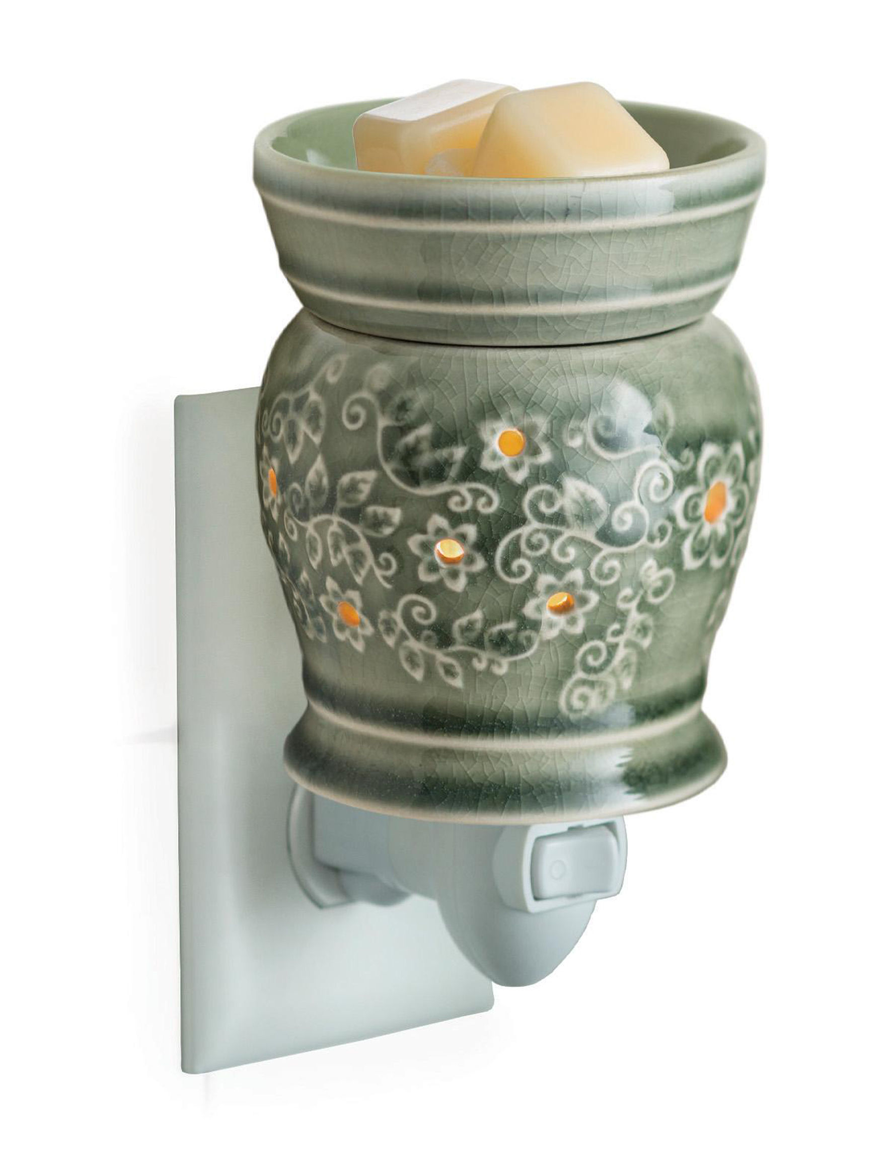 Candle Warmers Green Warmers & Plug Ins Candles & Diffusers