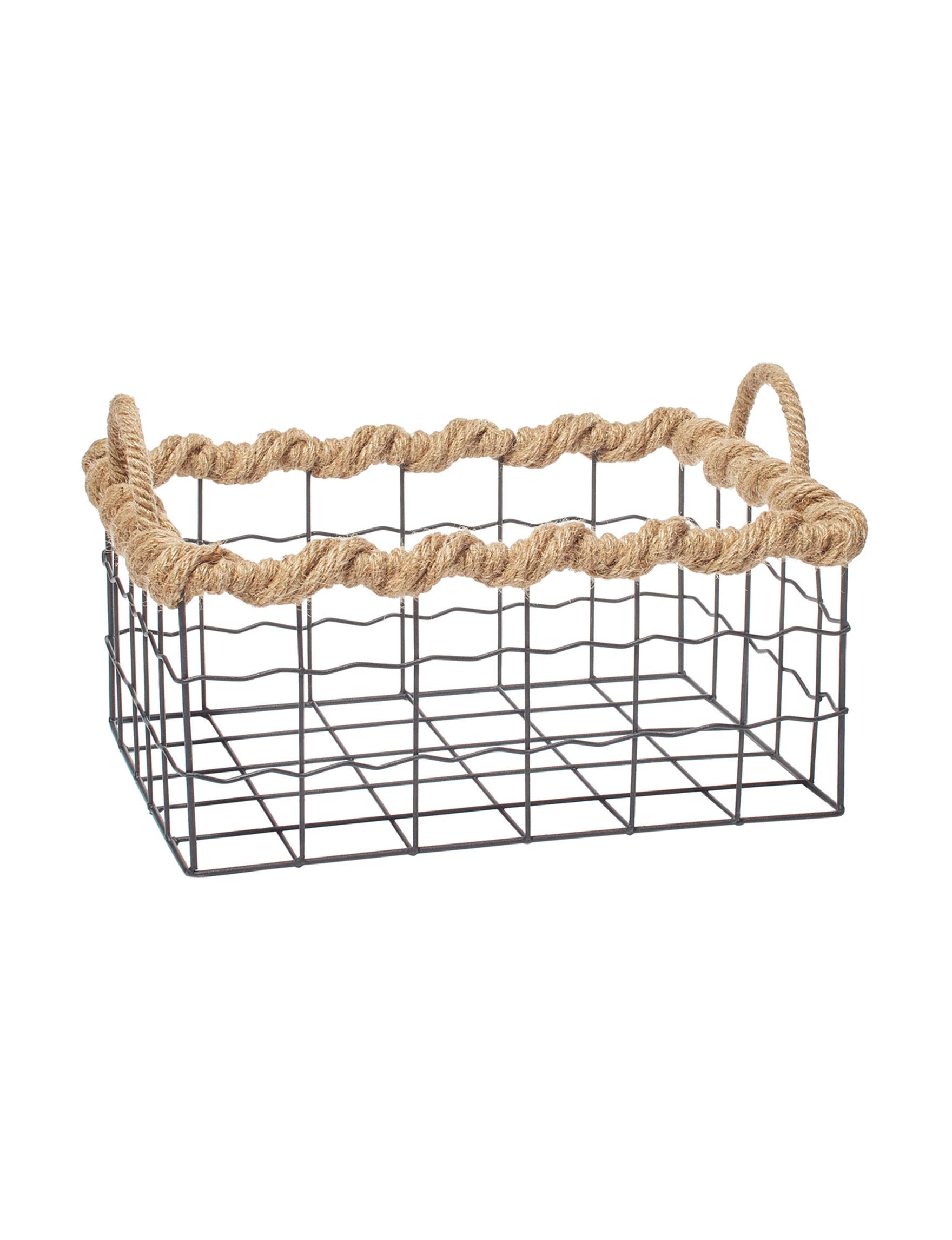 Enchante Brown Baskets Storage & Organization