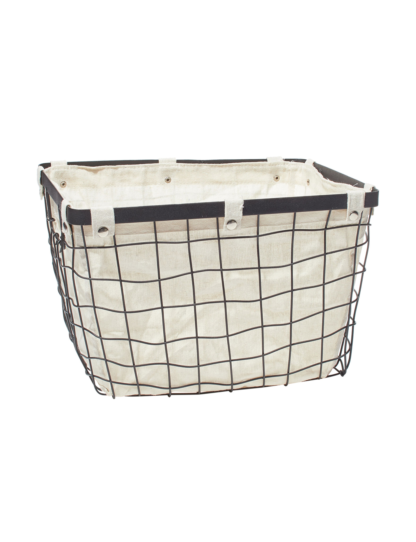 Enchante Black Baskets Storage & Organization