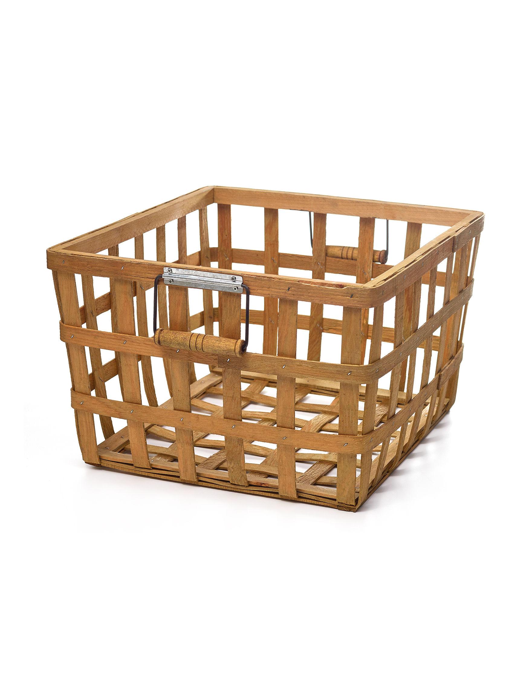 Enchante Wood Baskets Home Accents Storage & Organization