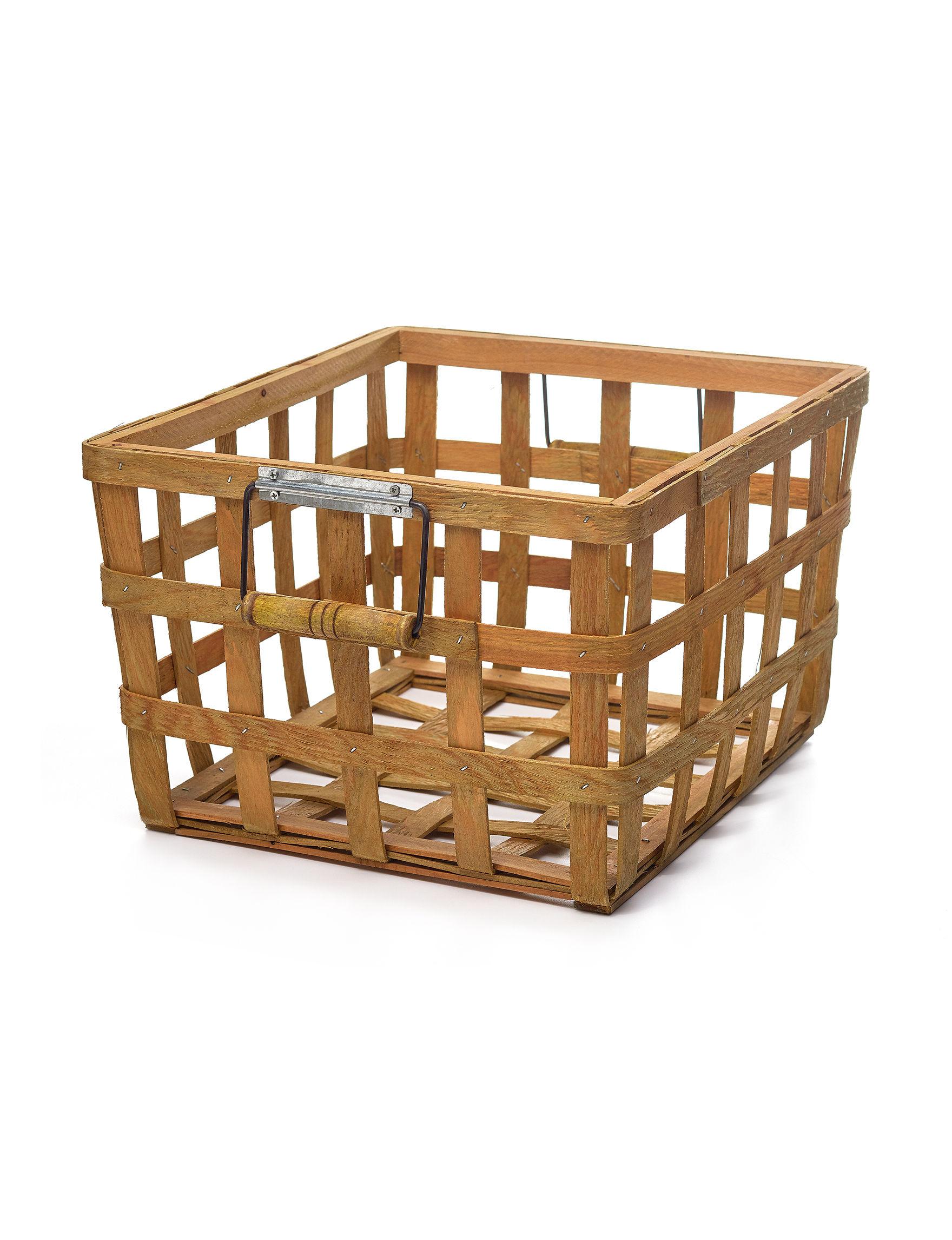 Enchante Wood Baskets Storage & Organization
