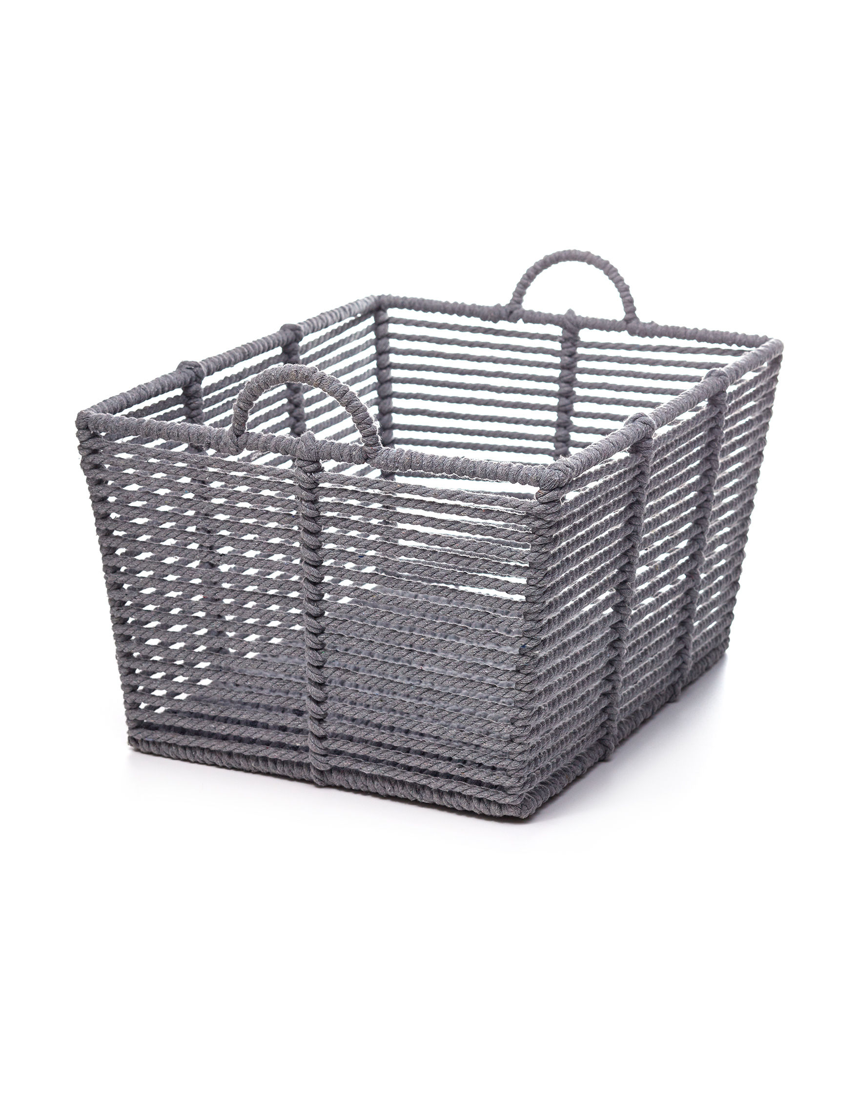 Enchante Light Grey Baskets Home Accents Storage & Organization