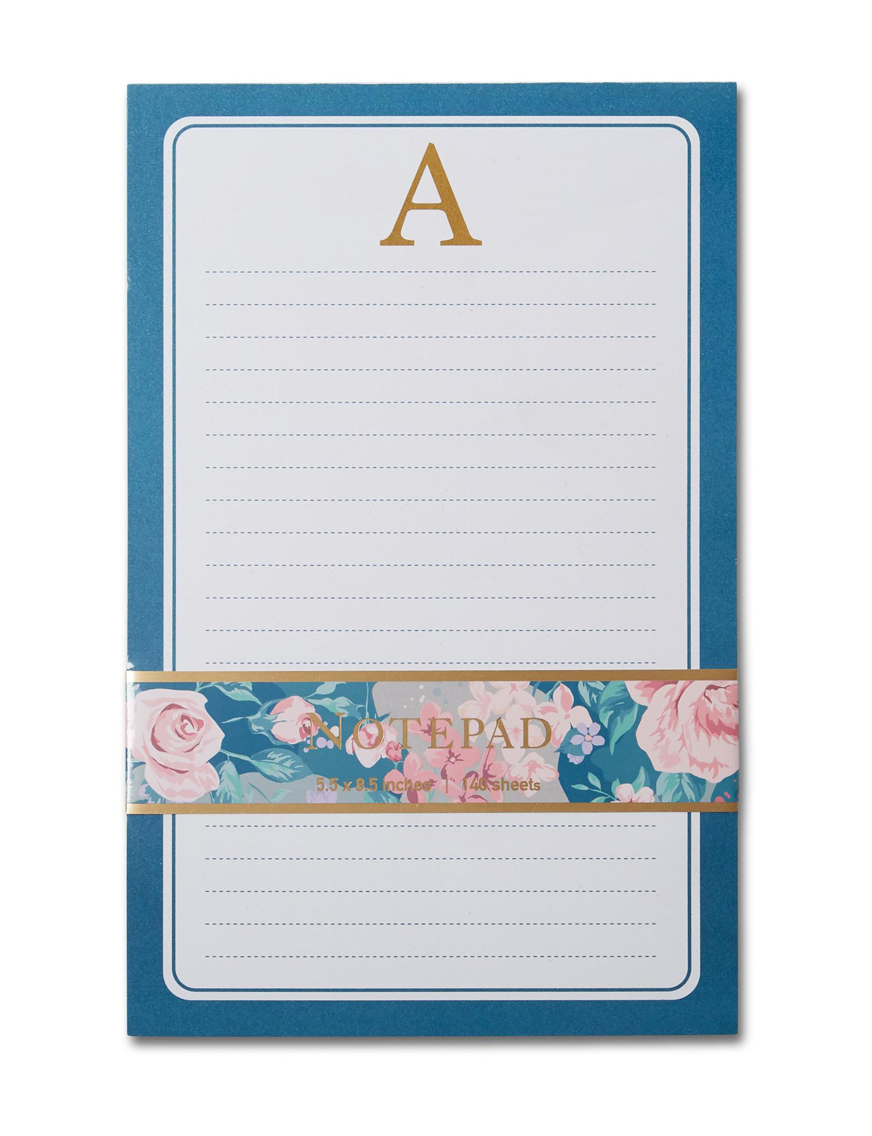 Tri Coastal Navy Journals & Notepads Monogram School & Office Supplies