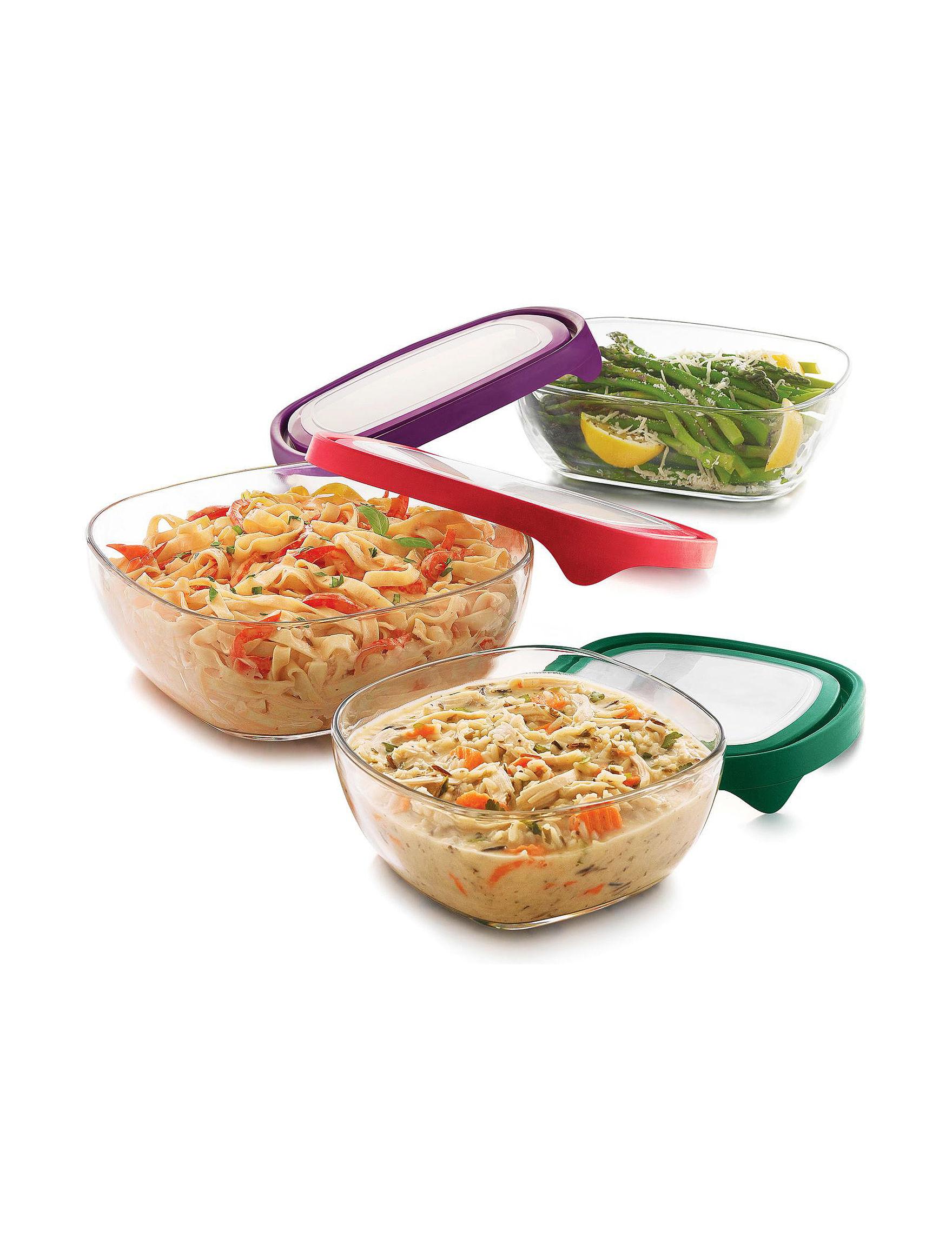 Libbey Glassware White / Multi Mixing Bowls Prep & Tools