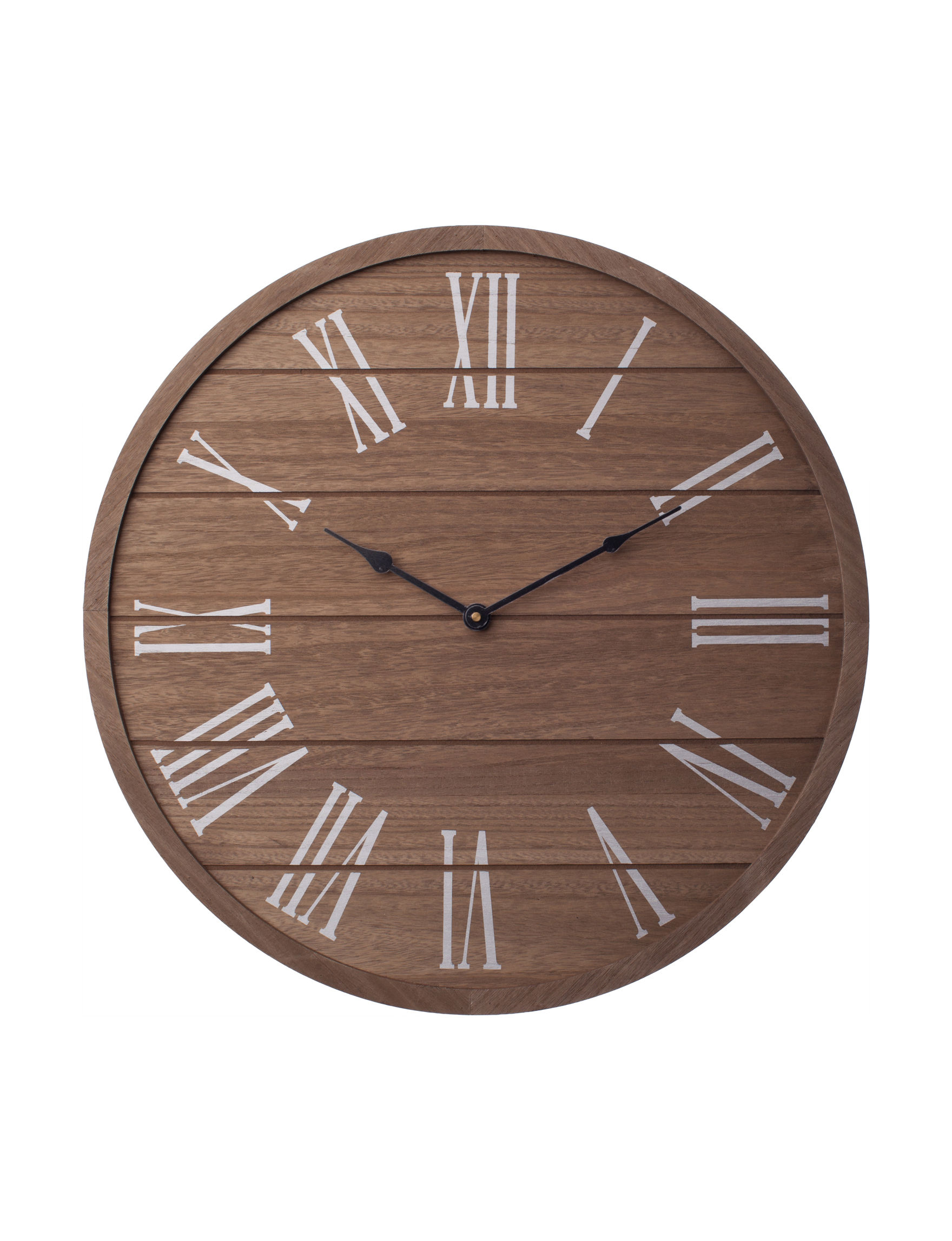New View Brown Wall Clocks Clocks Wall Decor