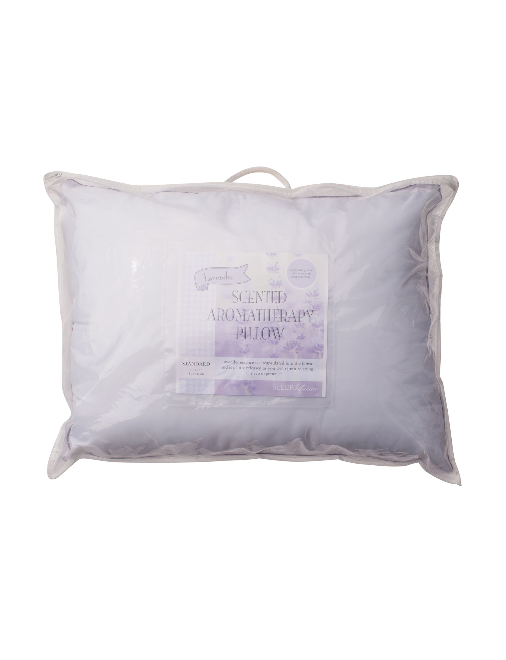 Sleep Infusion White Bed Pillows