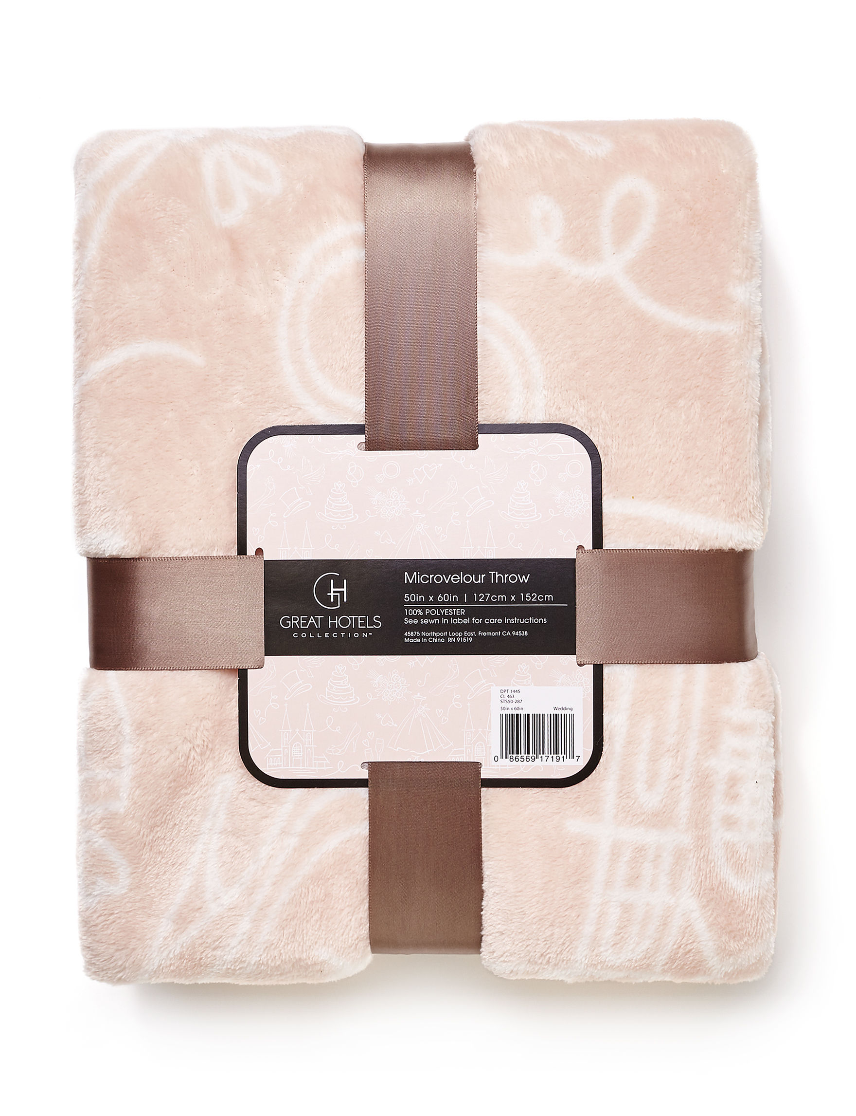 Great Hotels Collection Pink Blankets & Throws