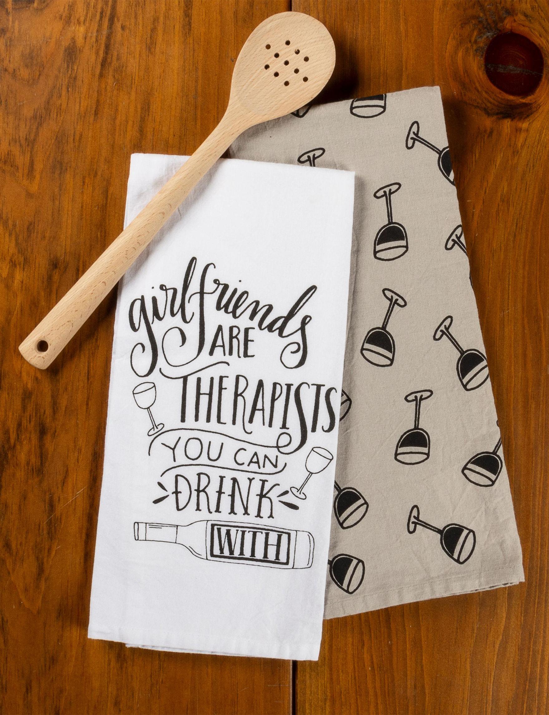 Primitives by Kathy White / Multi Dish Towels Kitchen Linens