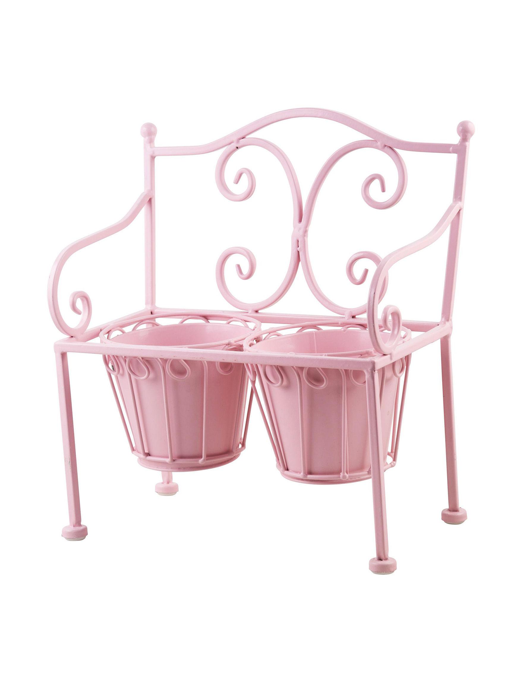 Home Essentials Pink Garden Decor & Planters Outdoor Decor