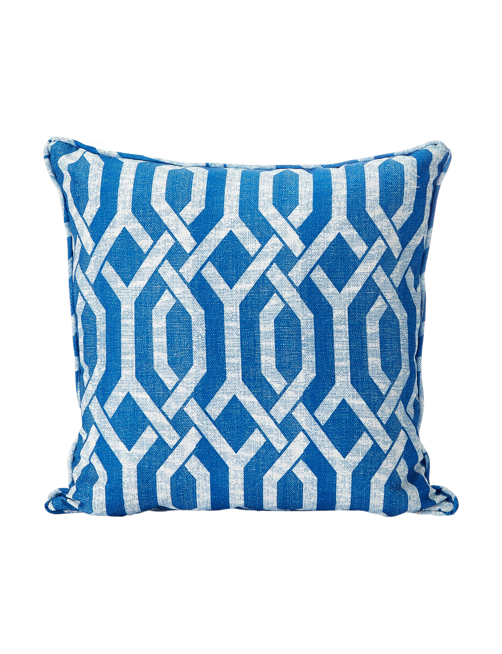 Home Fashions International Blue / Beige Outdoor Decor