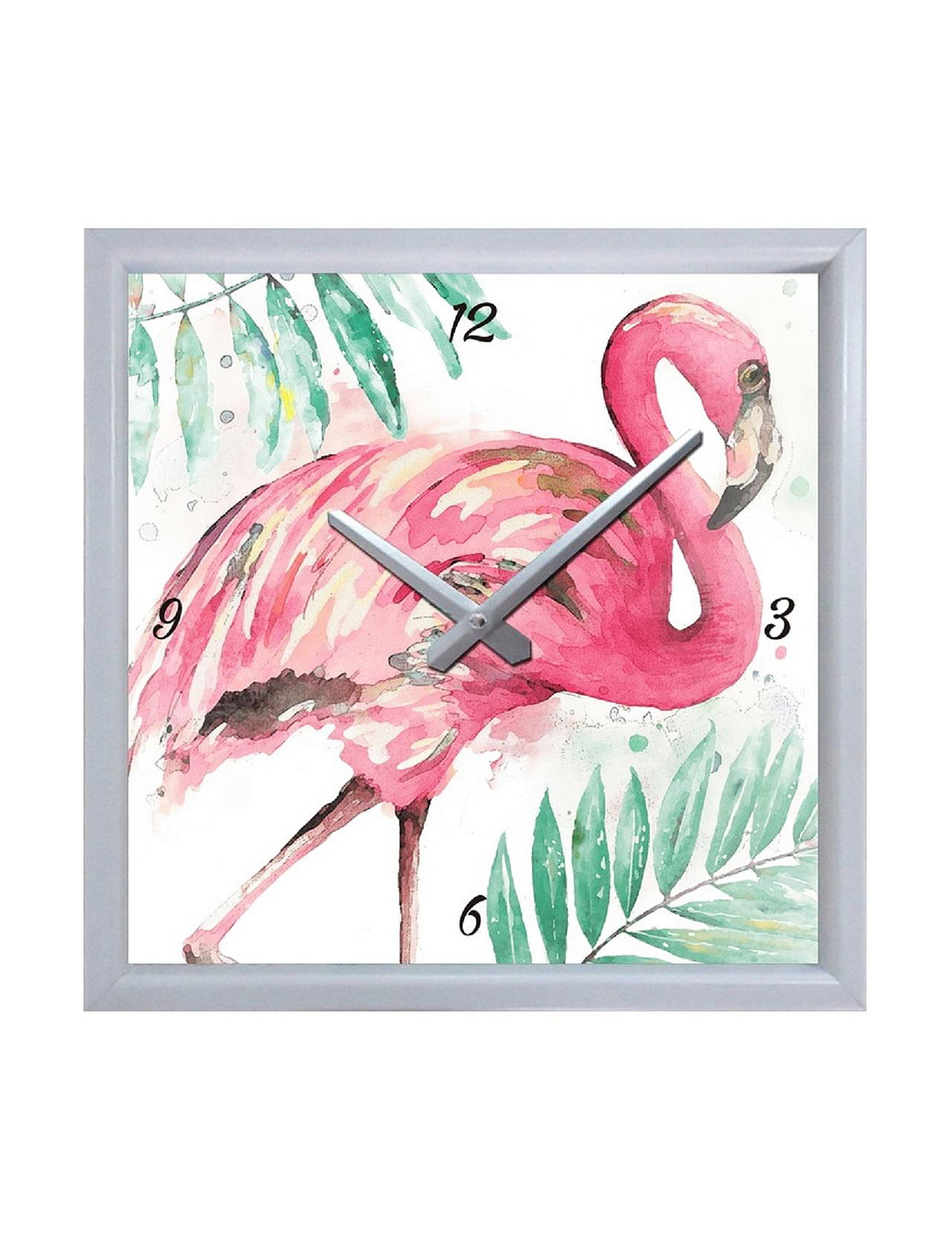 Fancy That Gift White / Multi Decorative Objects Wall Clocks Home Accents