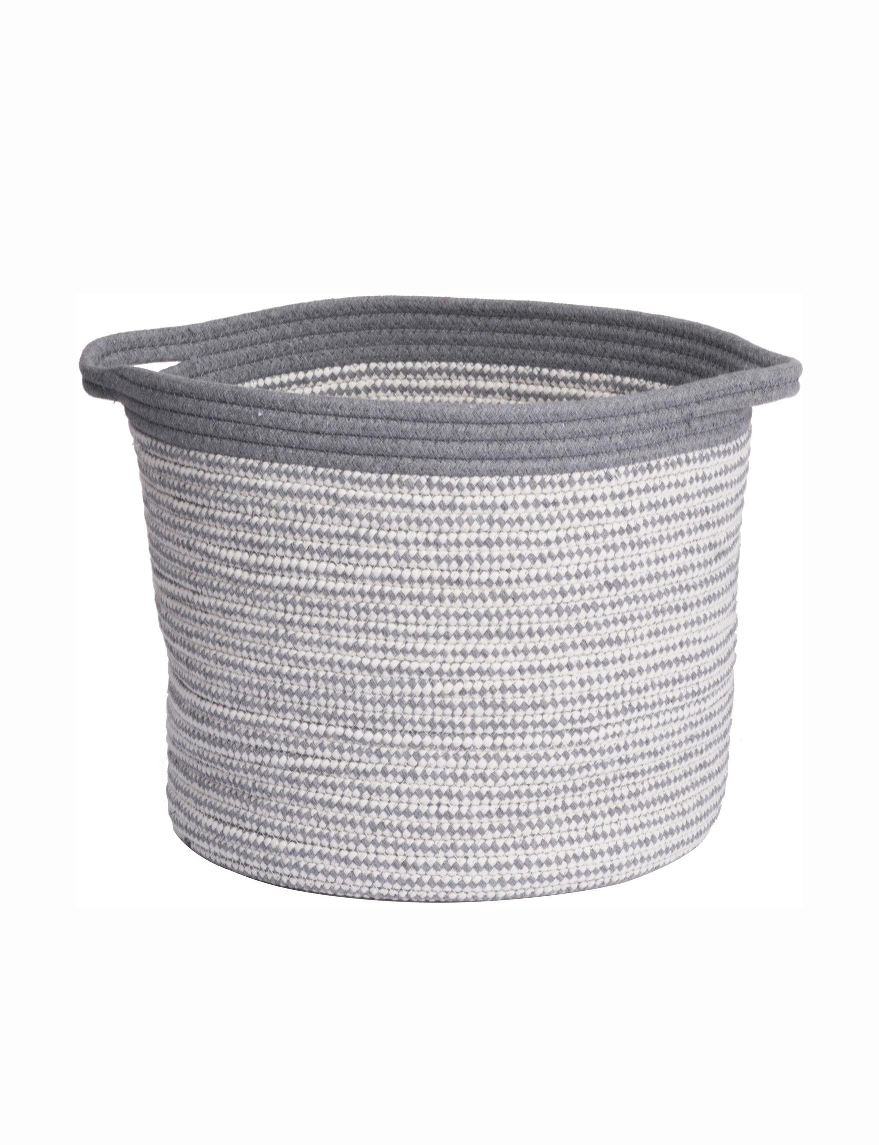 A&B Home Grey Baskets Storage & Organization