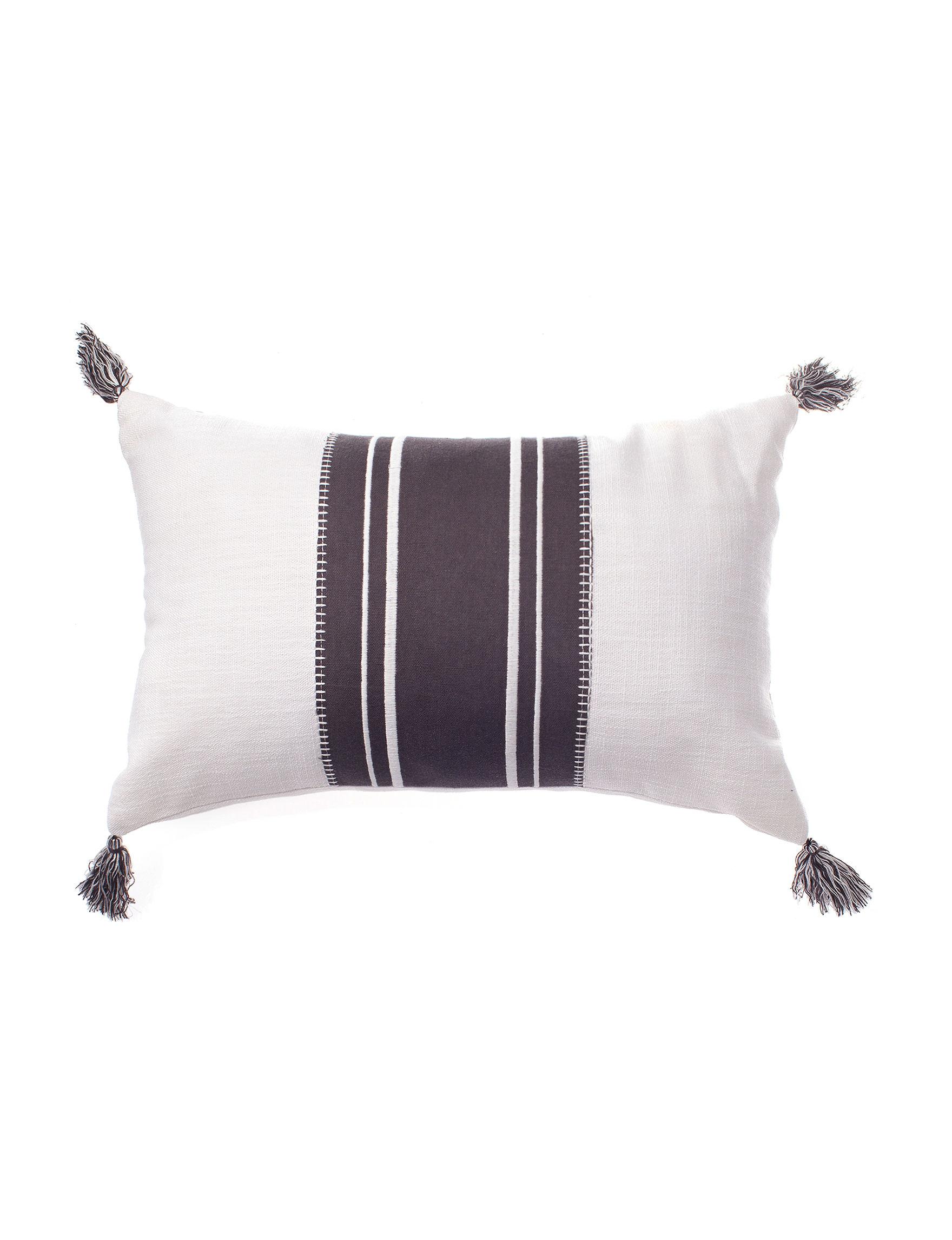 Deco Grey / White Decorative Pillows