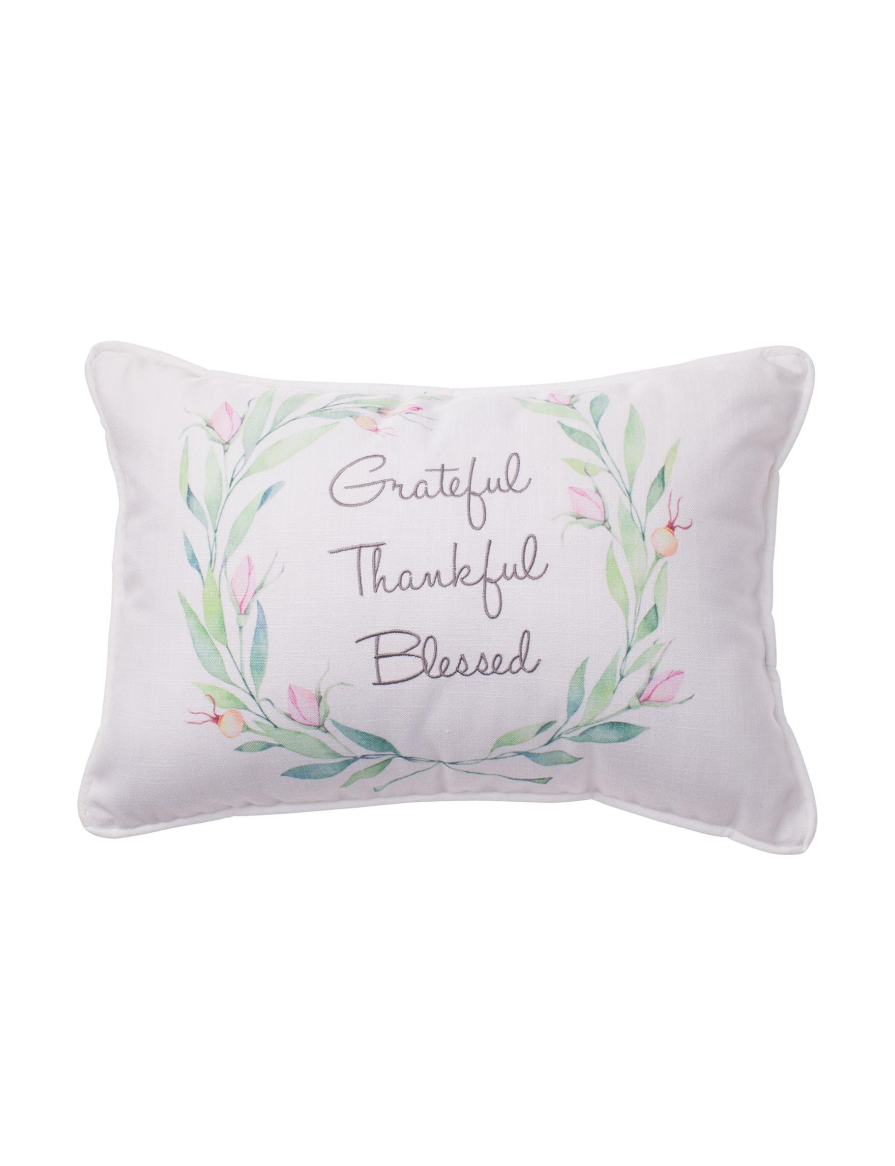 Deco White Decorative Pillows