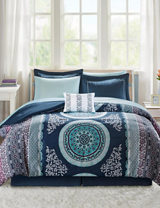 Intelligent Design Navy Multi Comforters & Comforter Sets Sheets