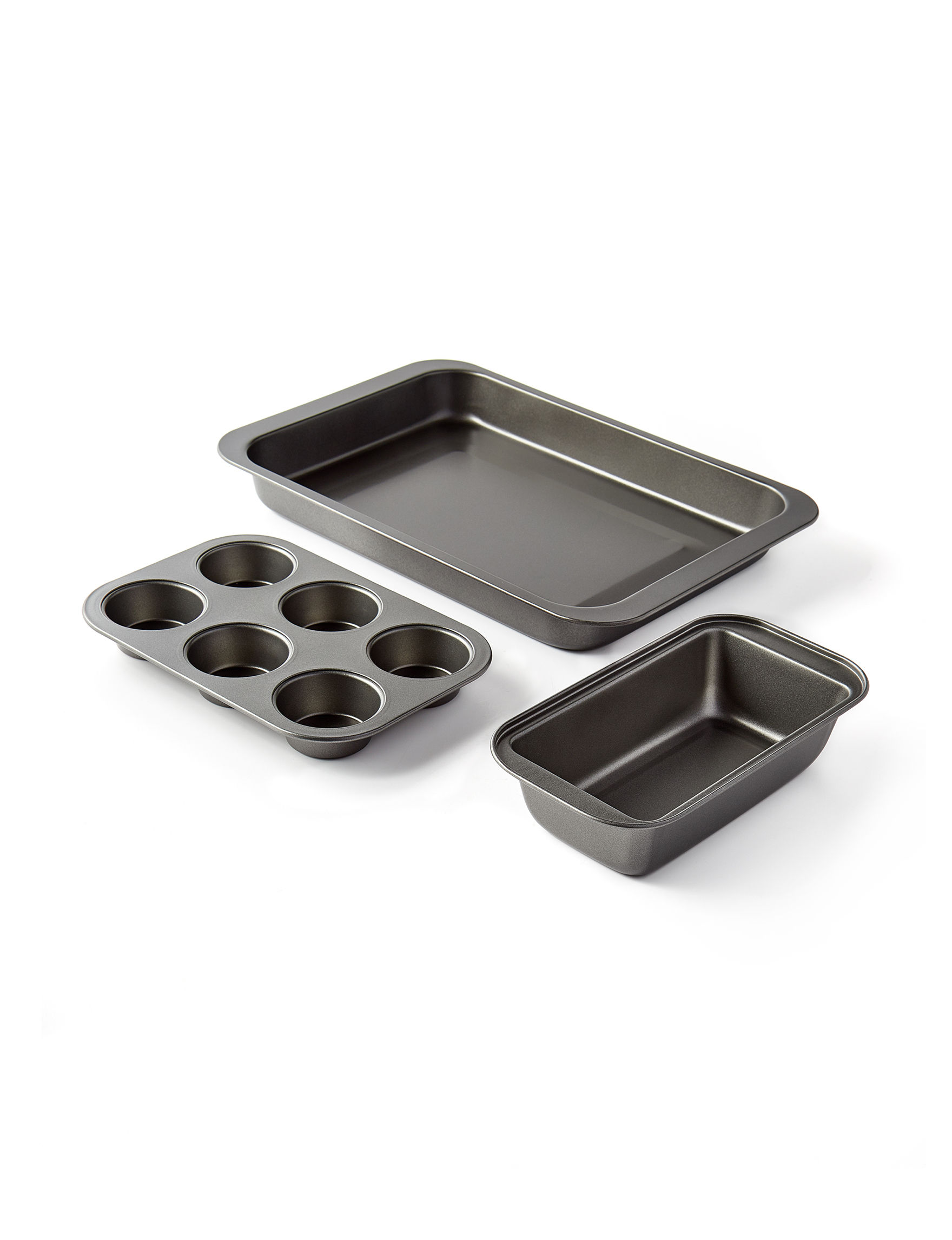 Sunbeam Steel/ Black Bakeware