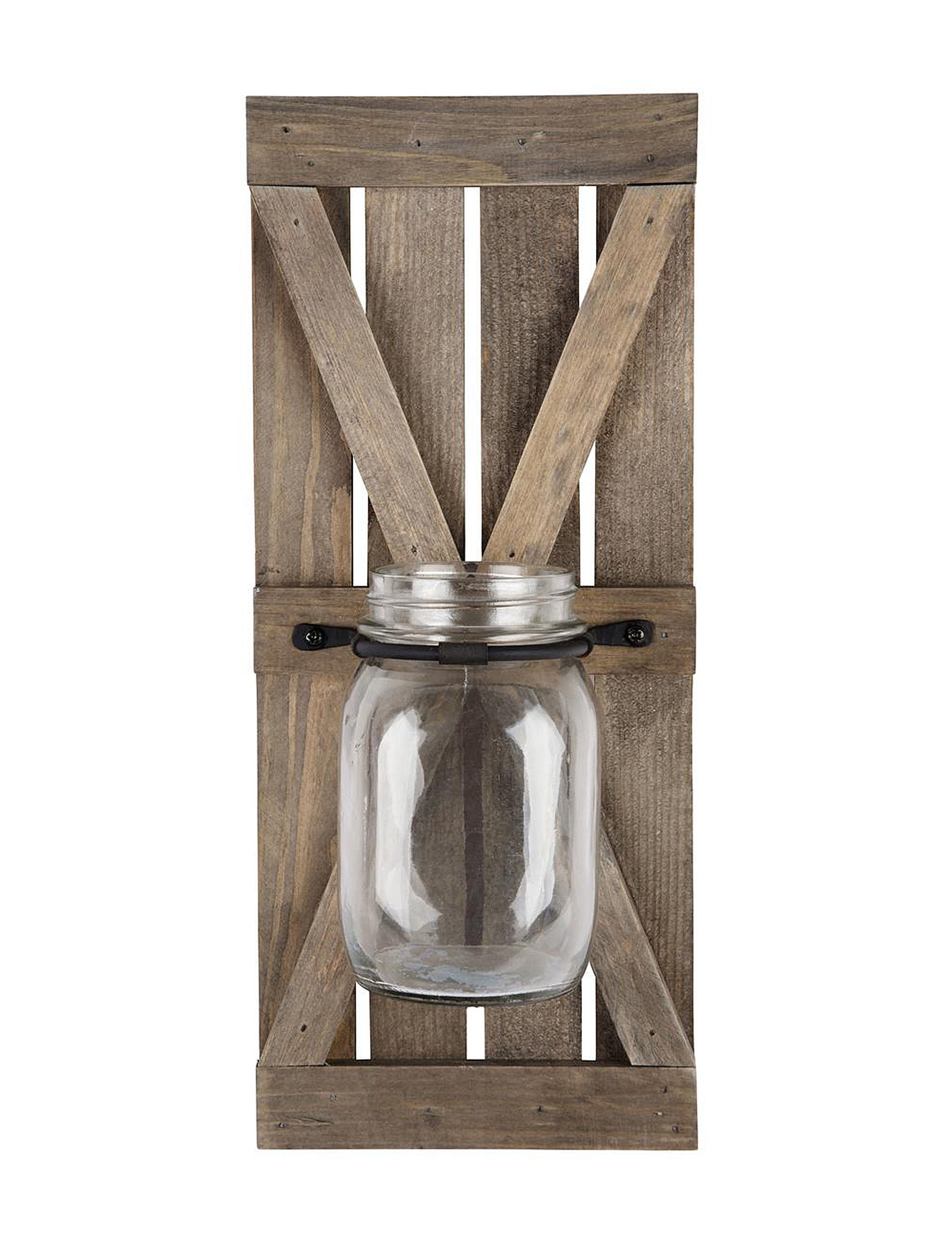Home Essentials Brown / Black Candle Holders Candles & Diffusers Wall Decor