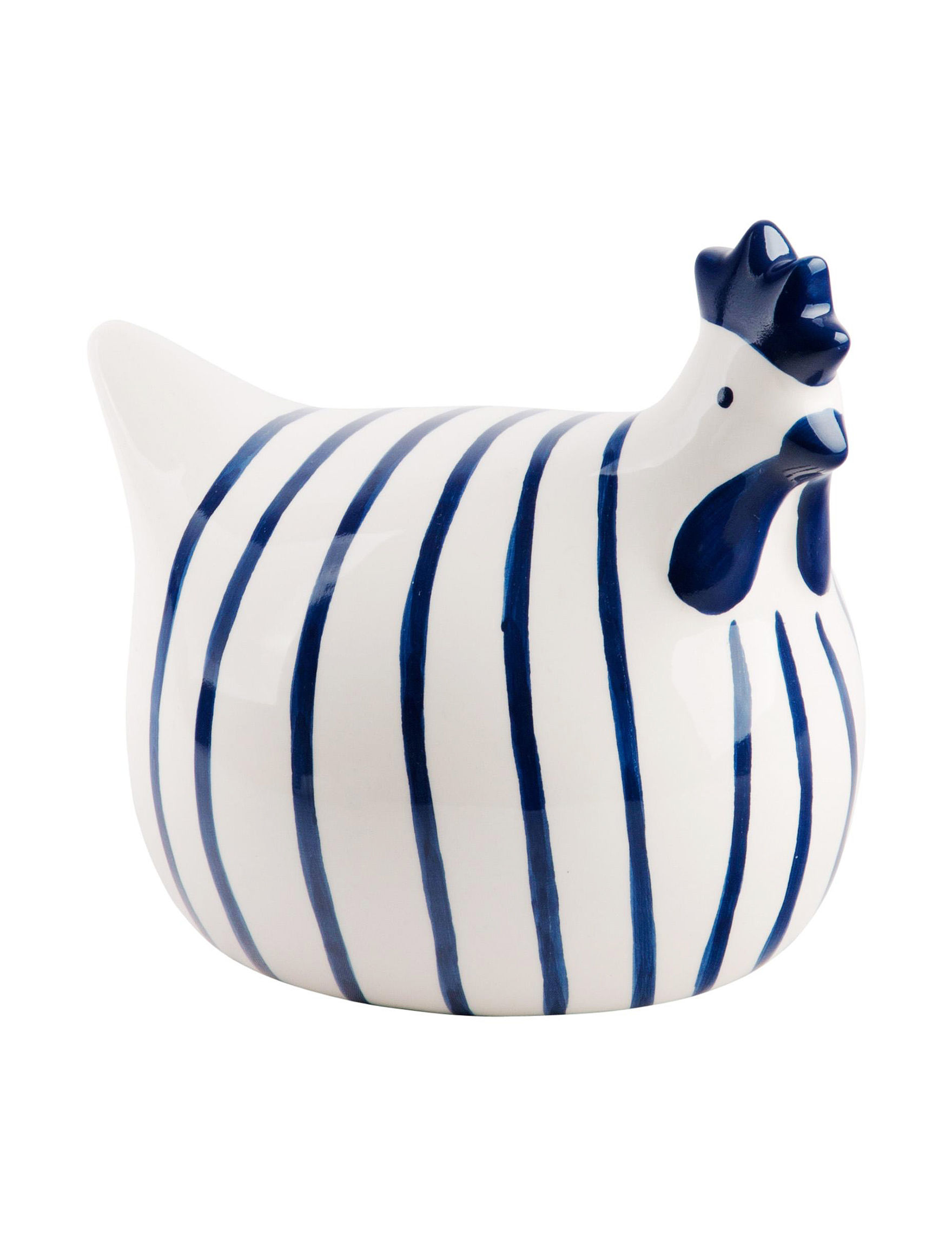 Home Essentials Blue / White Decorative Objects Home Accents