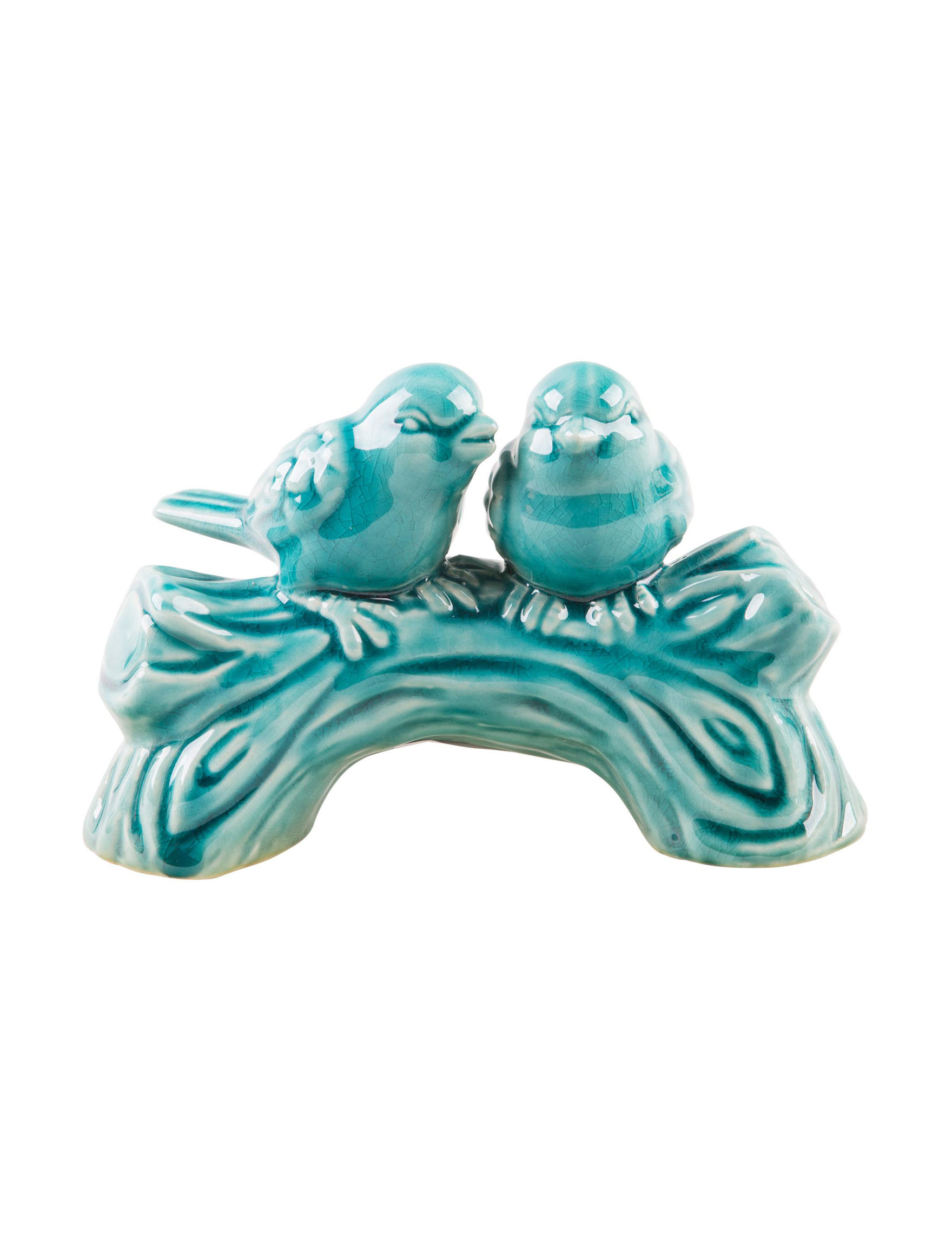 Home Essentials Turquoise Garden Decor & Planters Home Accents Outdoor Decor