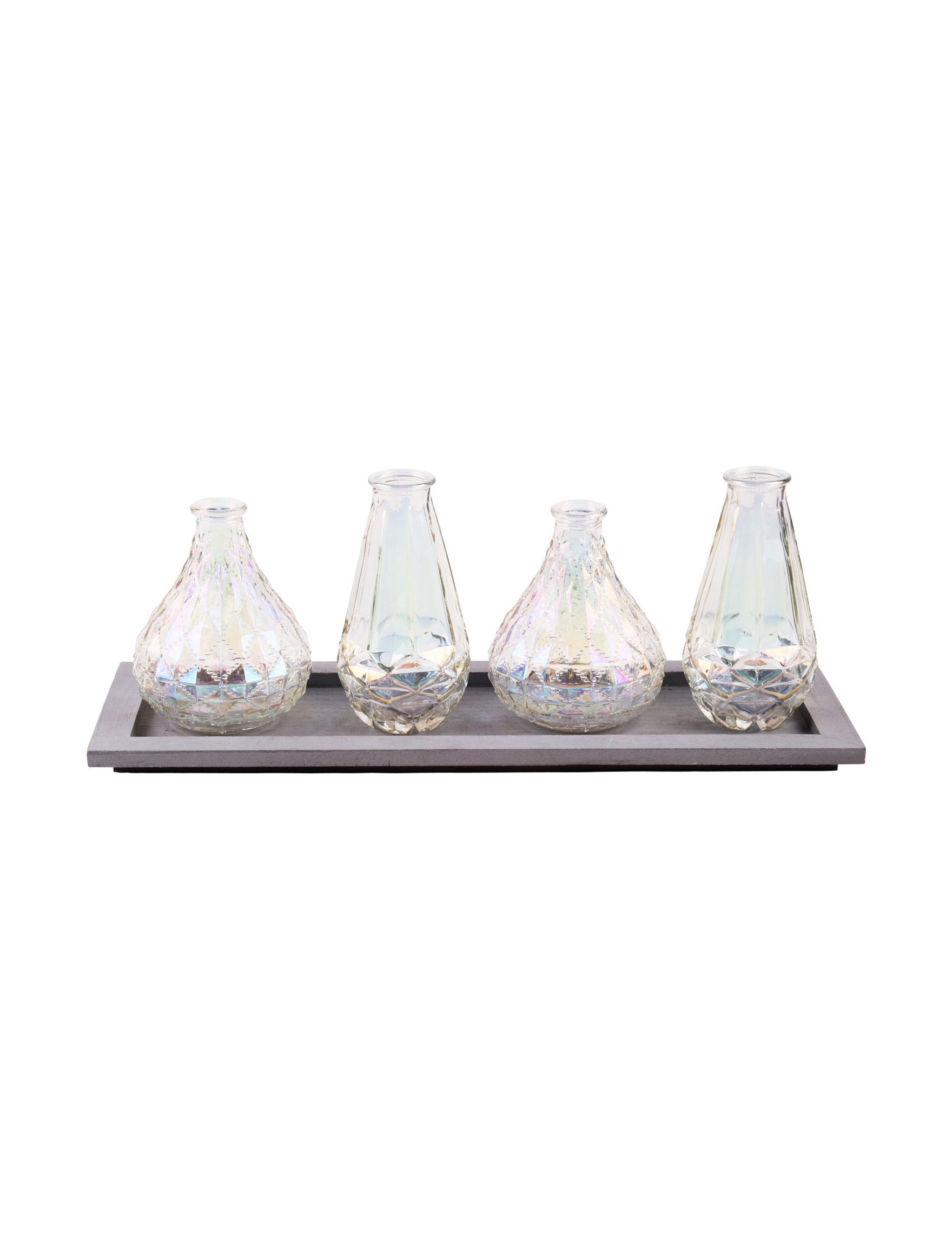 Home Essentials Iridescent Glass Decorative Objects Home Accents
