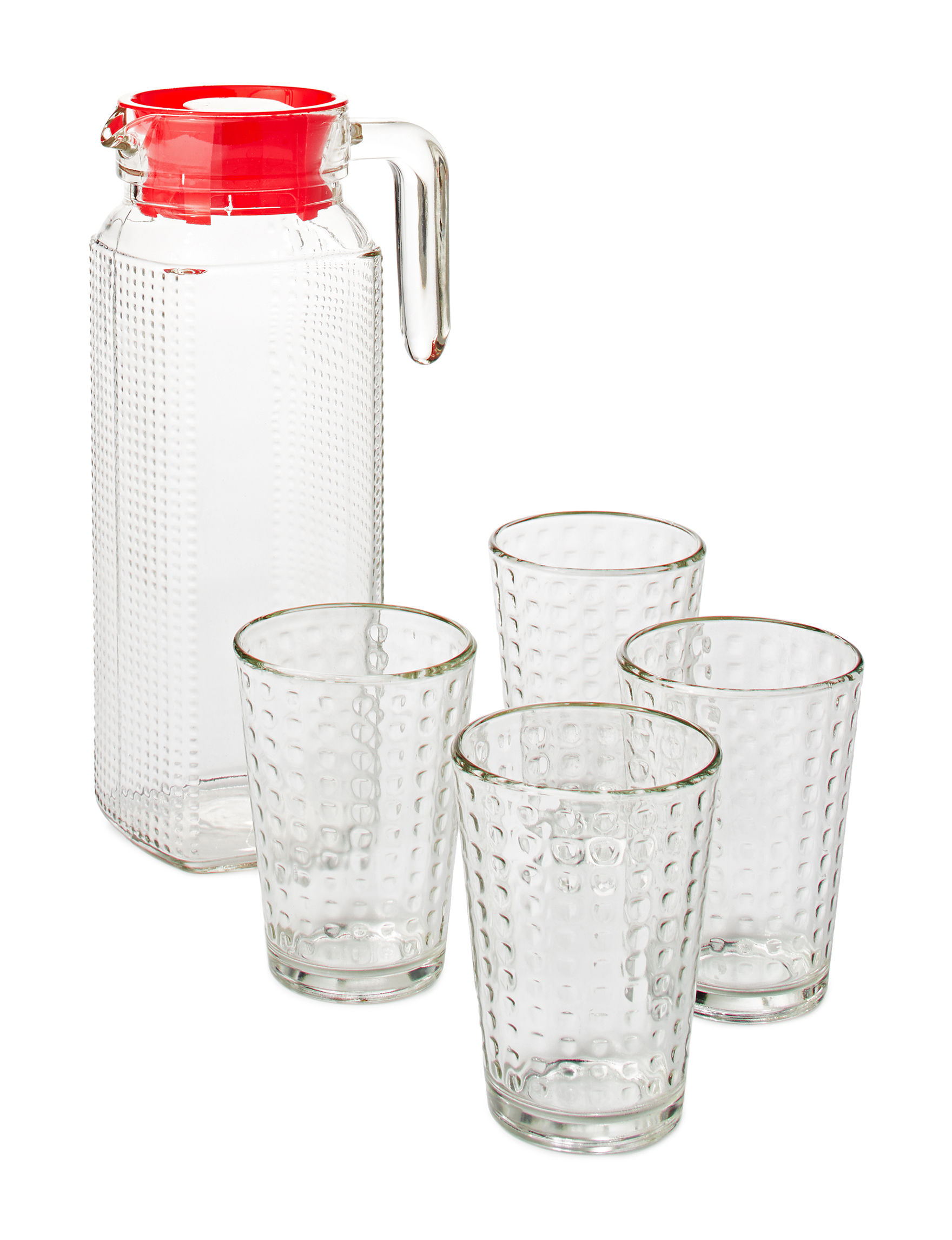Gibson Clear Pitchers & Punch Bowls Drinkware