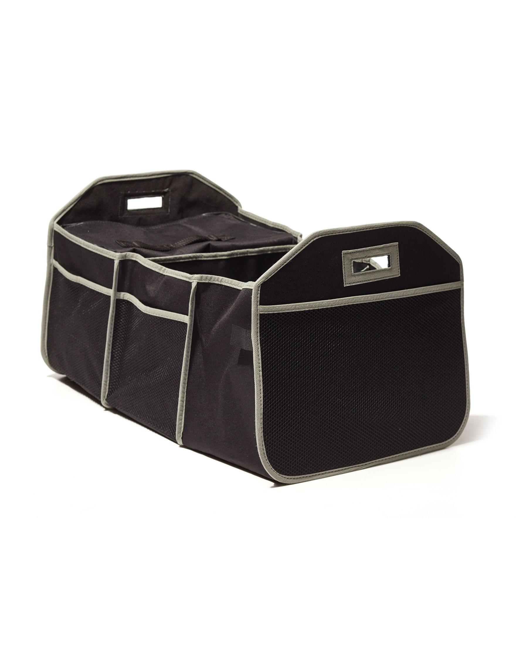 Home Basics Black / Grey Storage & Organization