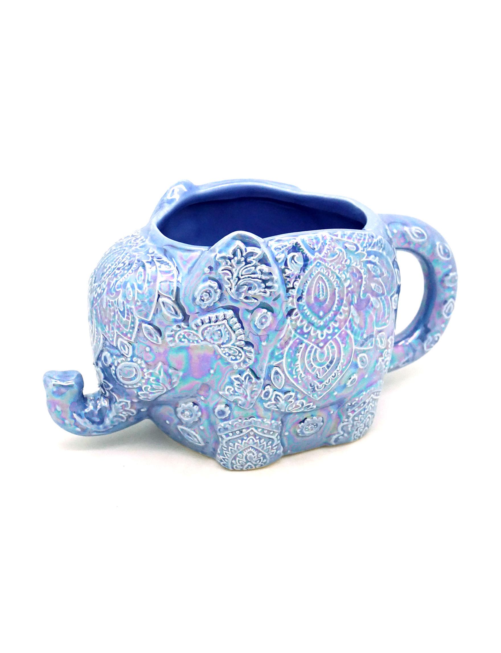 TMD Holdings Blue Multi Mugs Drinkware