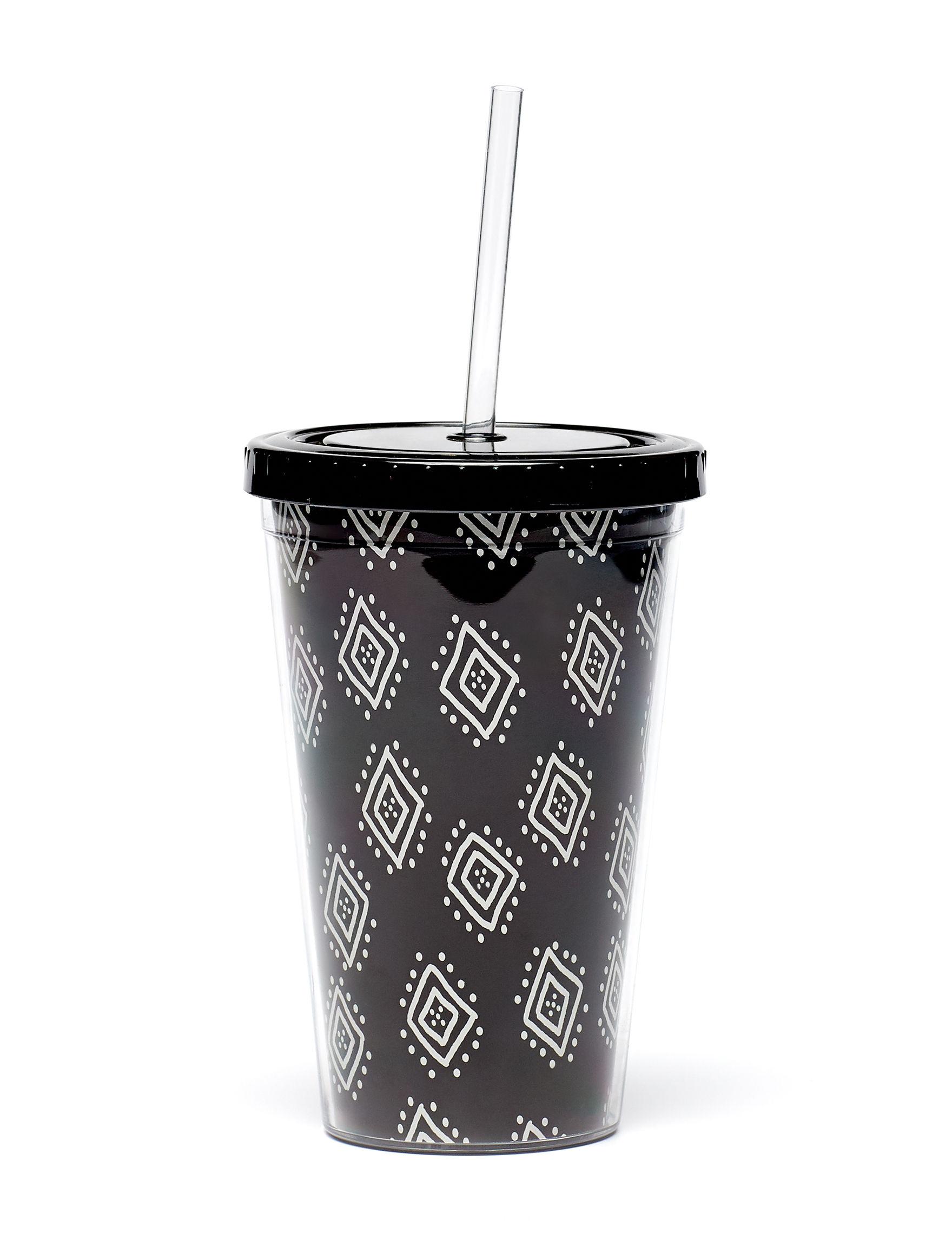 TMD Holdings Black / White Tumblers Drinkware