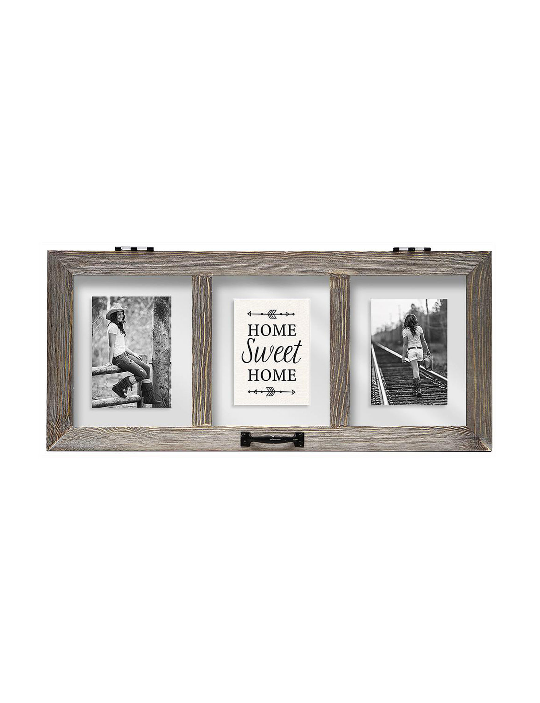 BP Industries Brown Decorative Objects Frames & Shadow Boxes
