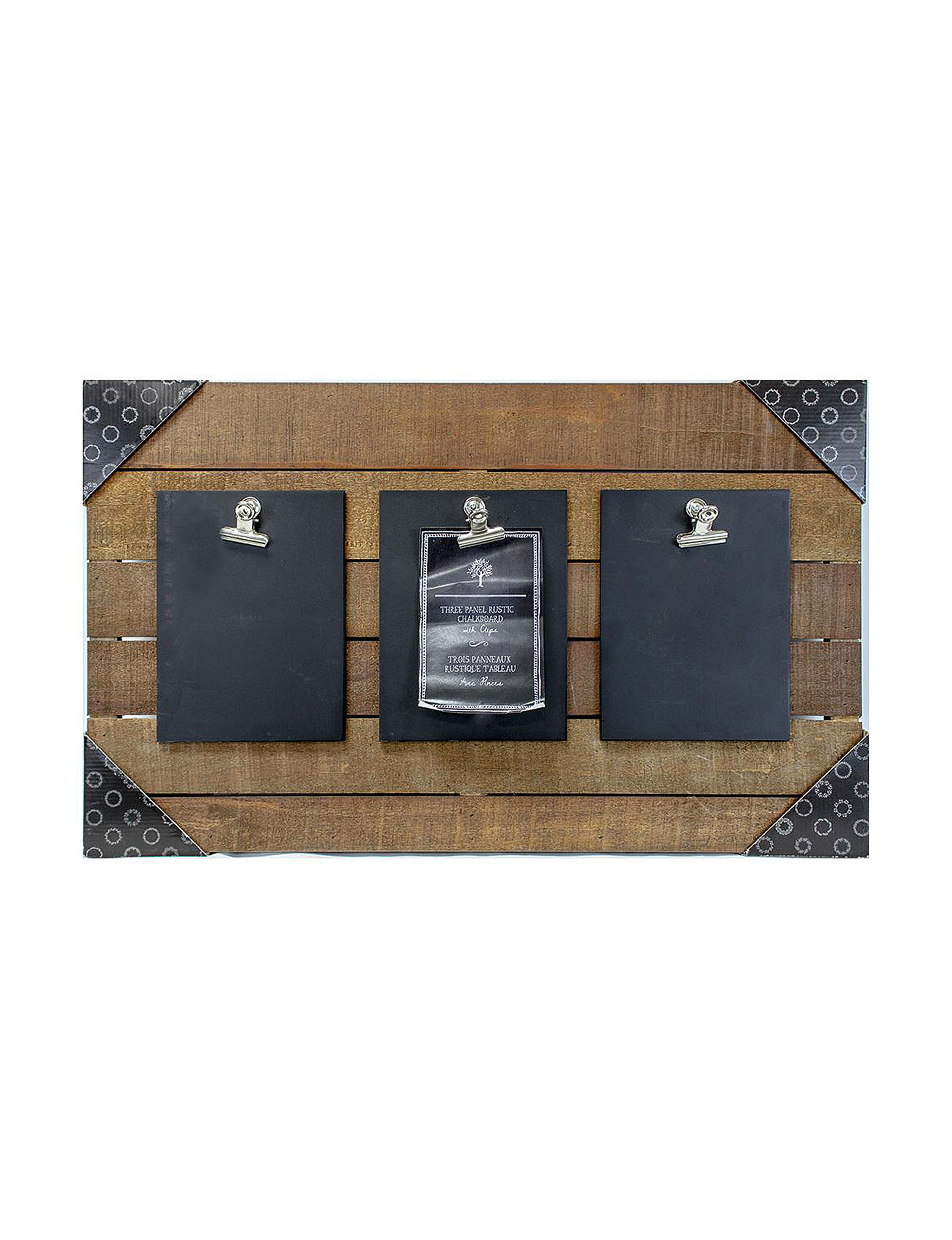 BP Industries Dark Brown Decorative Objects Frames & Shadow Boxes