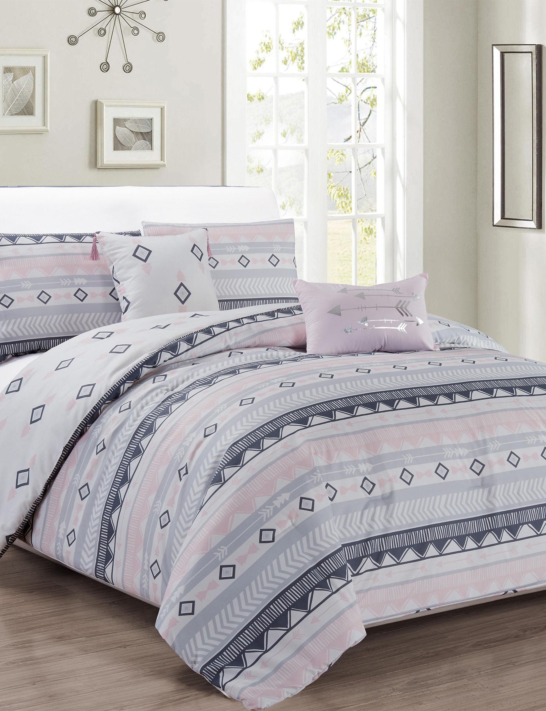 Kensie Blush Comforters & Comforter Sets