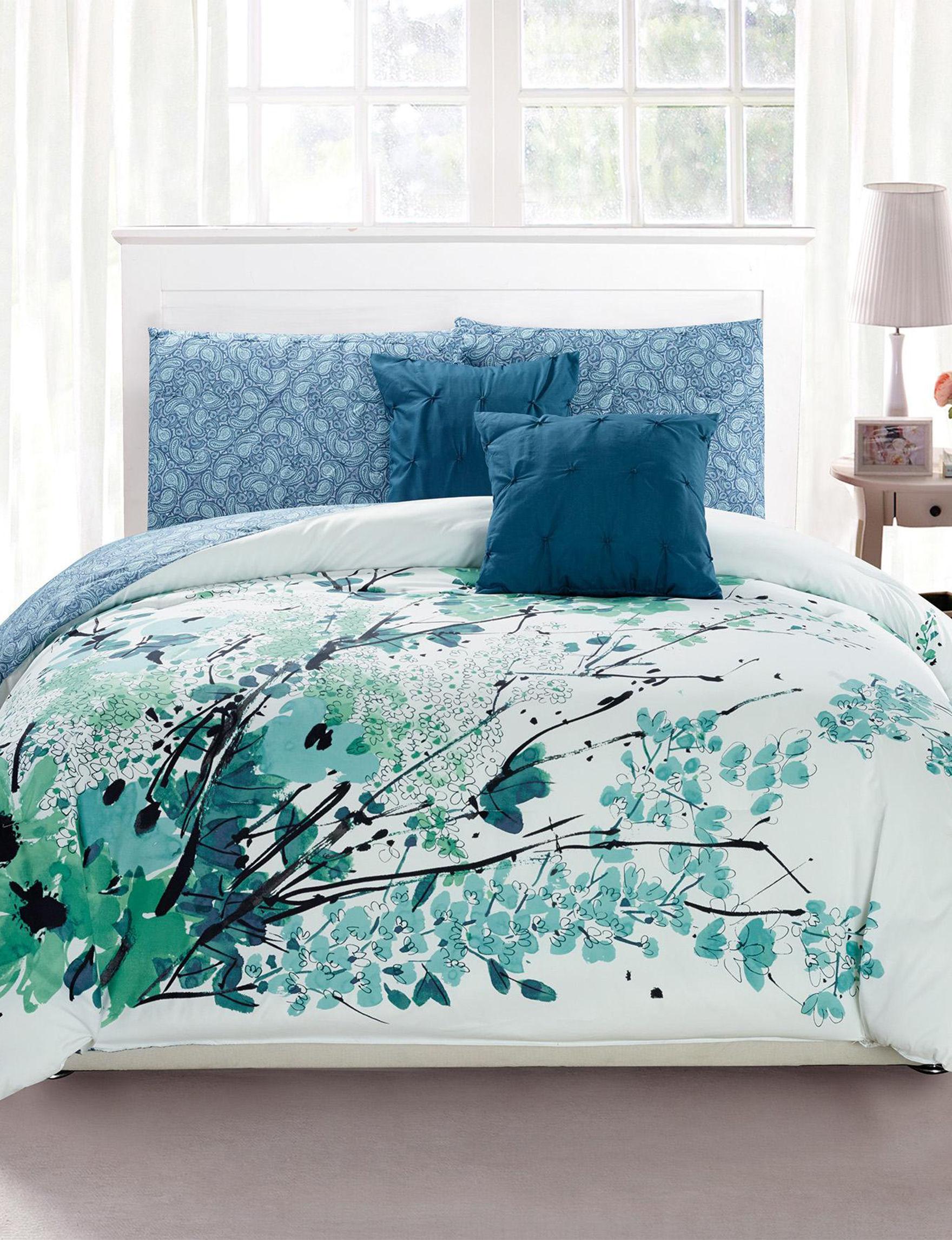 Kensie Blue Comforters & Comforter Sets