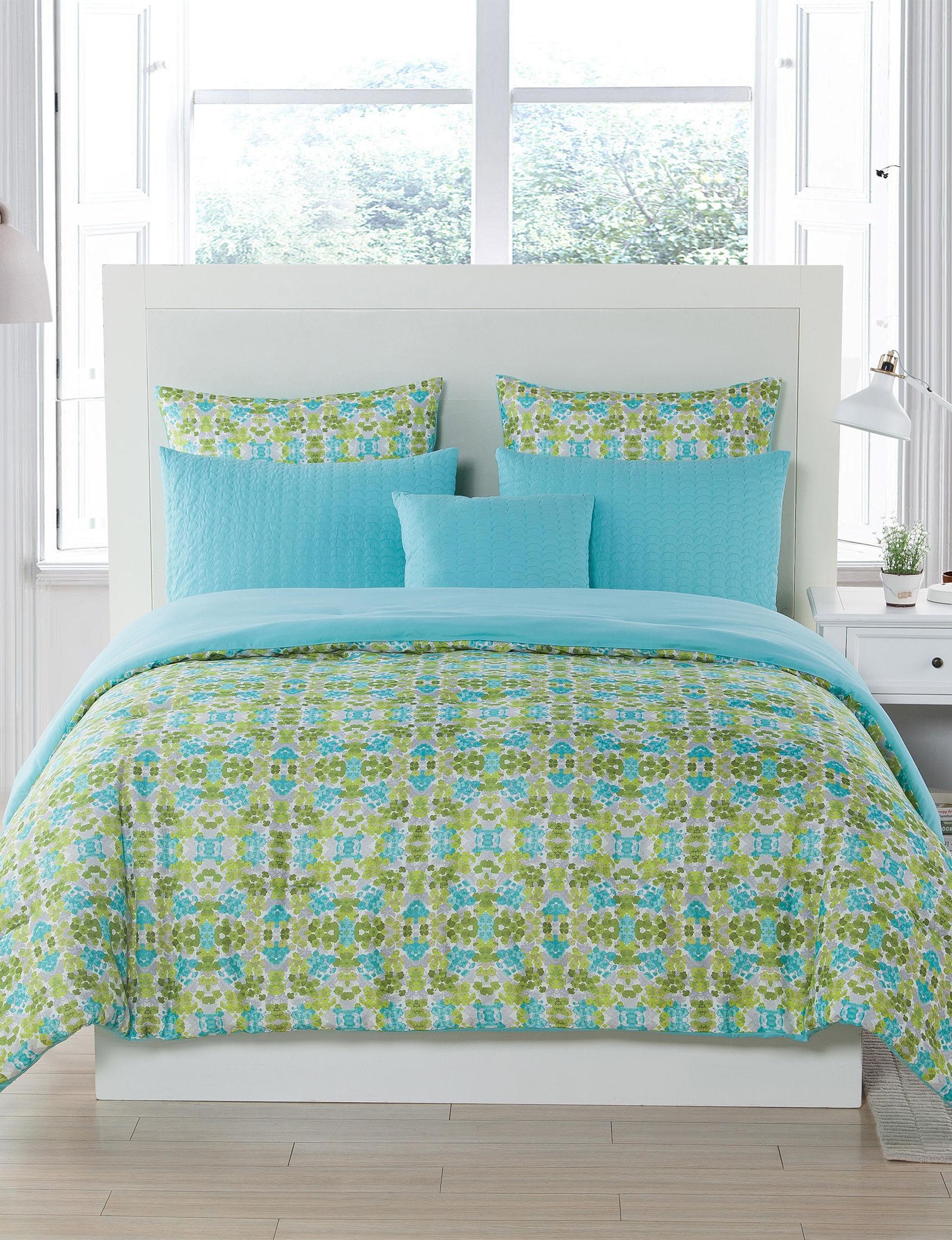 Kensie Turquoise Comforters & Comforter Sets
