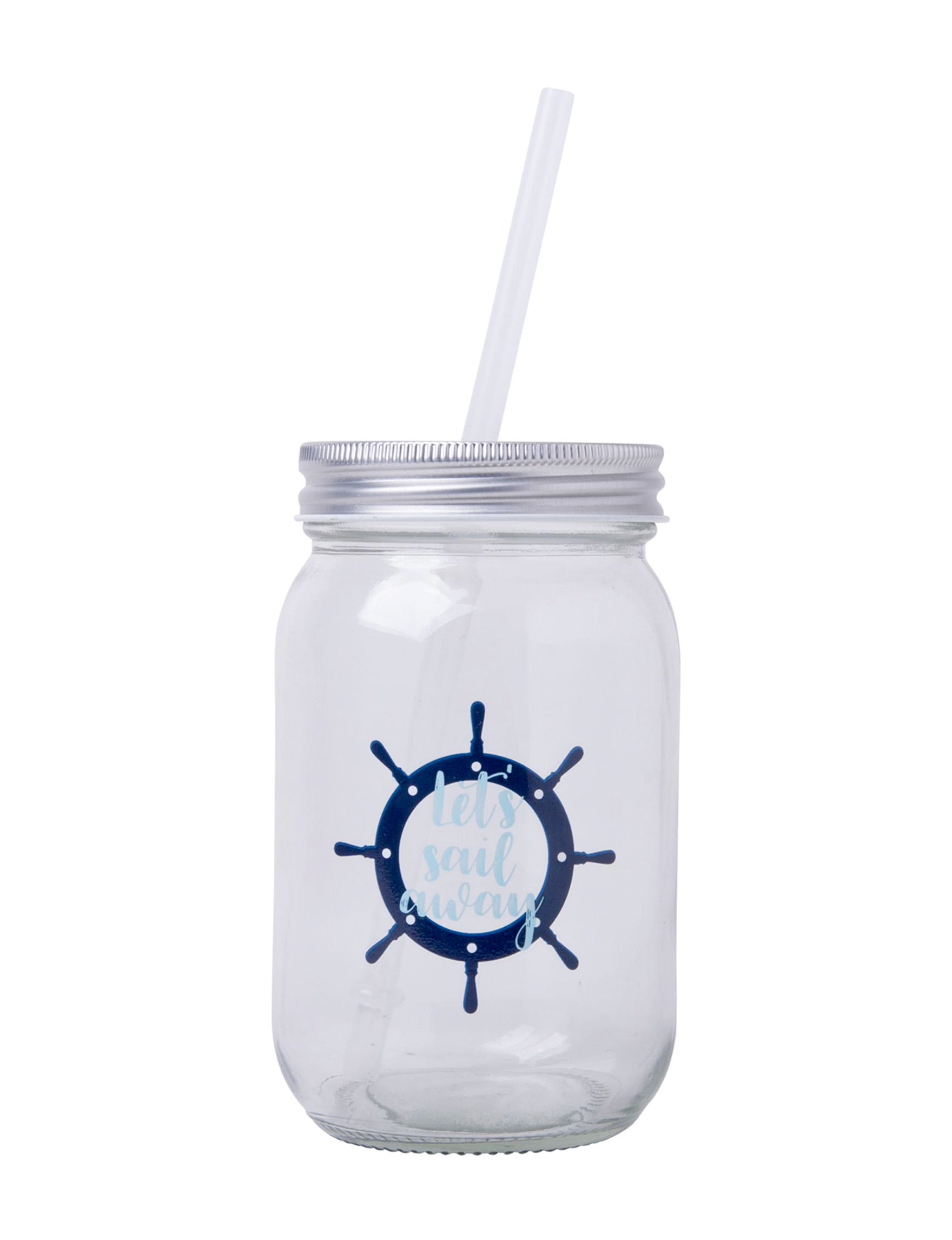 Home Essentials Blue Multi Tumblers Drinkware