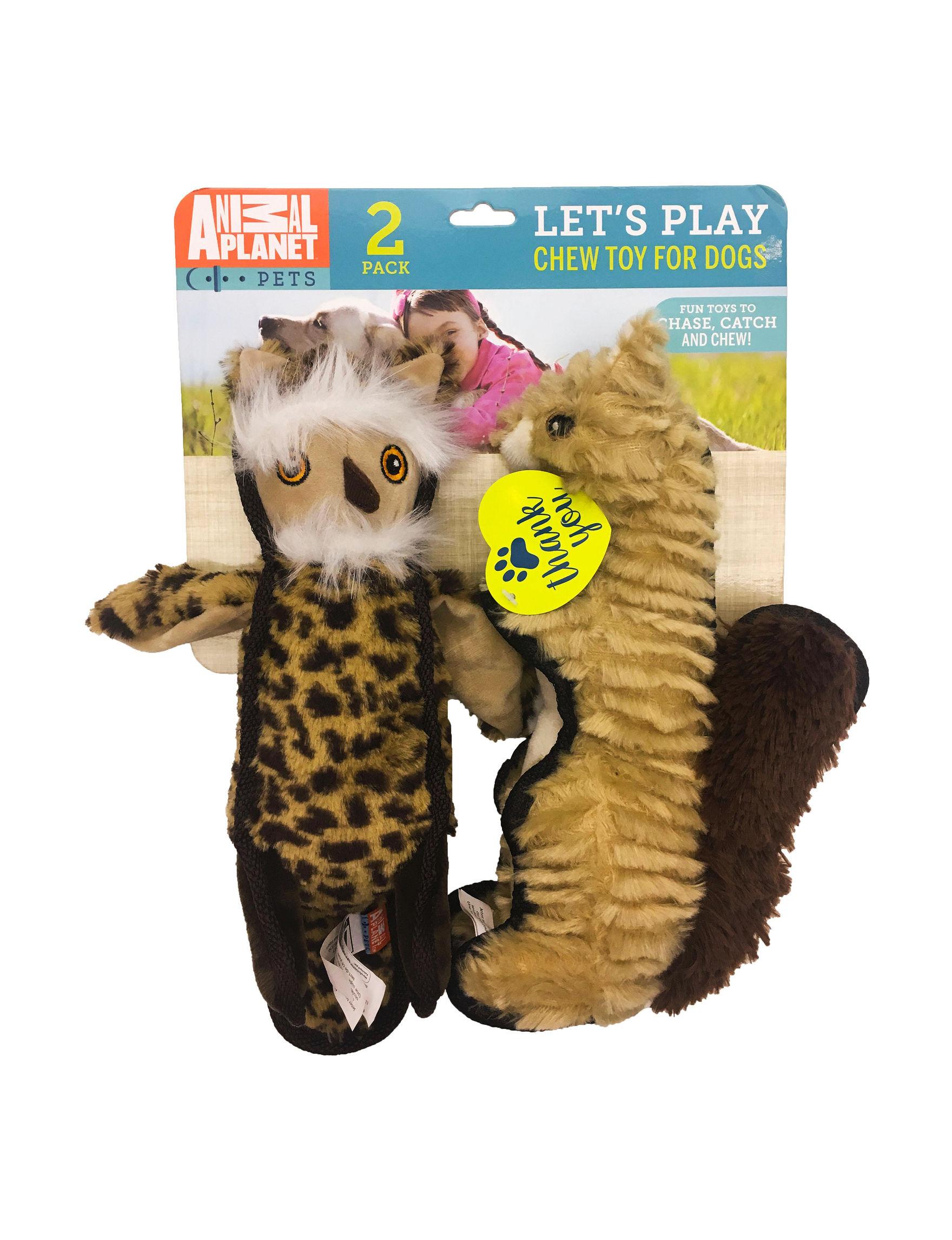Animal Planet Brown Pet Treats & Toys